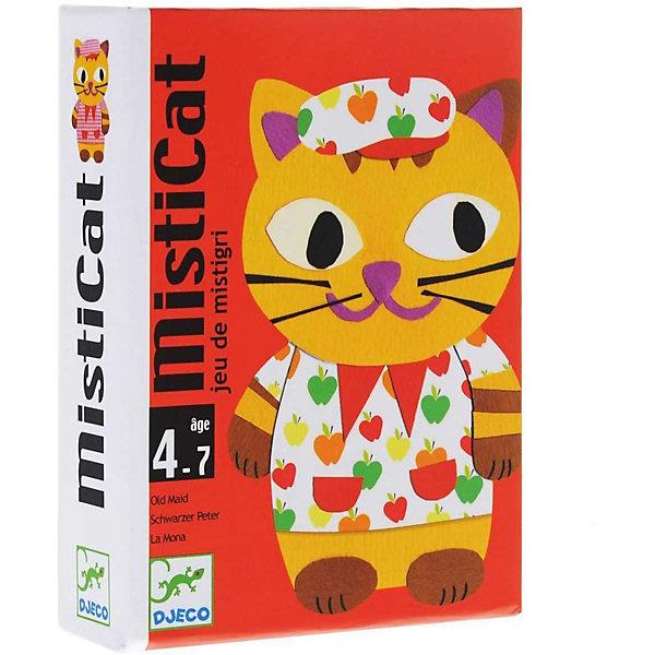 Купить Карточная игра Мистикэт , DJECO, Франция, Унисекс