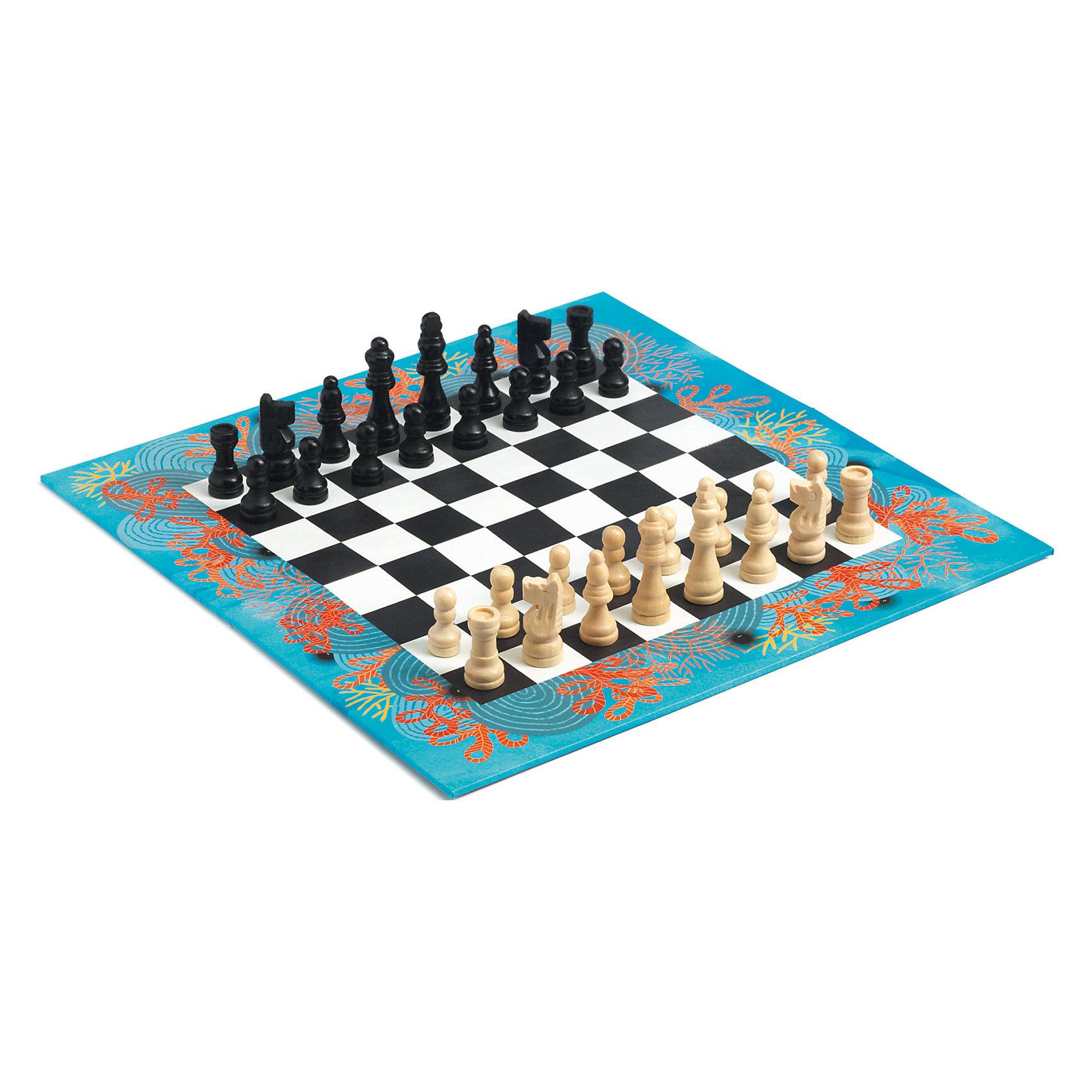 Шахматы, DJECOИгры-стратегии<br>Шахматы от французского производителя Djeco – великолепный набор, который понравится и детям, и взрослым! <br><br>Яркий набор классической игры в неповторимом дизайне Djeco! Набор включает в себя прекрасные деревянные фигурки и иллюстрированную доску для игры. <br><br>Игра в шахматы развивает логическое и стратегическое мышление, внимательность, способность к принятию решений. <br><br>Набор изготовлен из безопасных высококачественных материалов. <br>Продается в яркой подарочной упаковке.<br><br>Ширина мм: 380<br>Глубина мм: 160<br>Высота мм: 30<br>Вес г: 300<br>Возраст от месяцев: 36<br>Возраст до месяцев: 1188<br>Пол: Унисекс<br>Возраст: Детский<br>SKU: 4761450