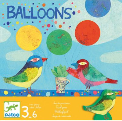 Настольная игра Воздушные шары , DJECO