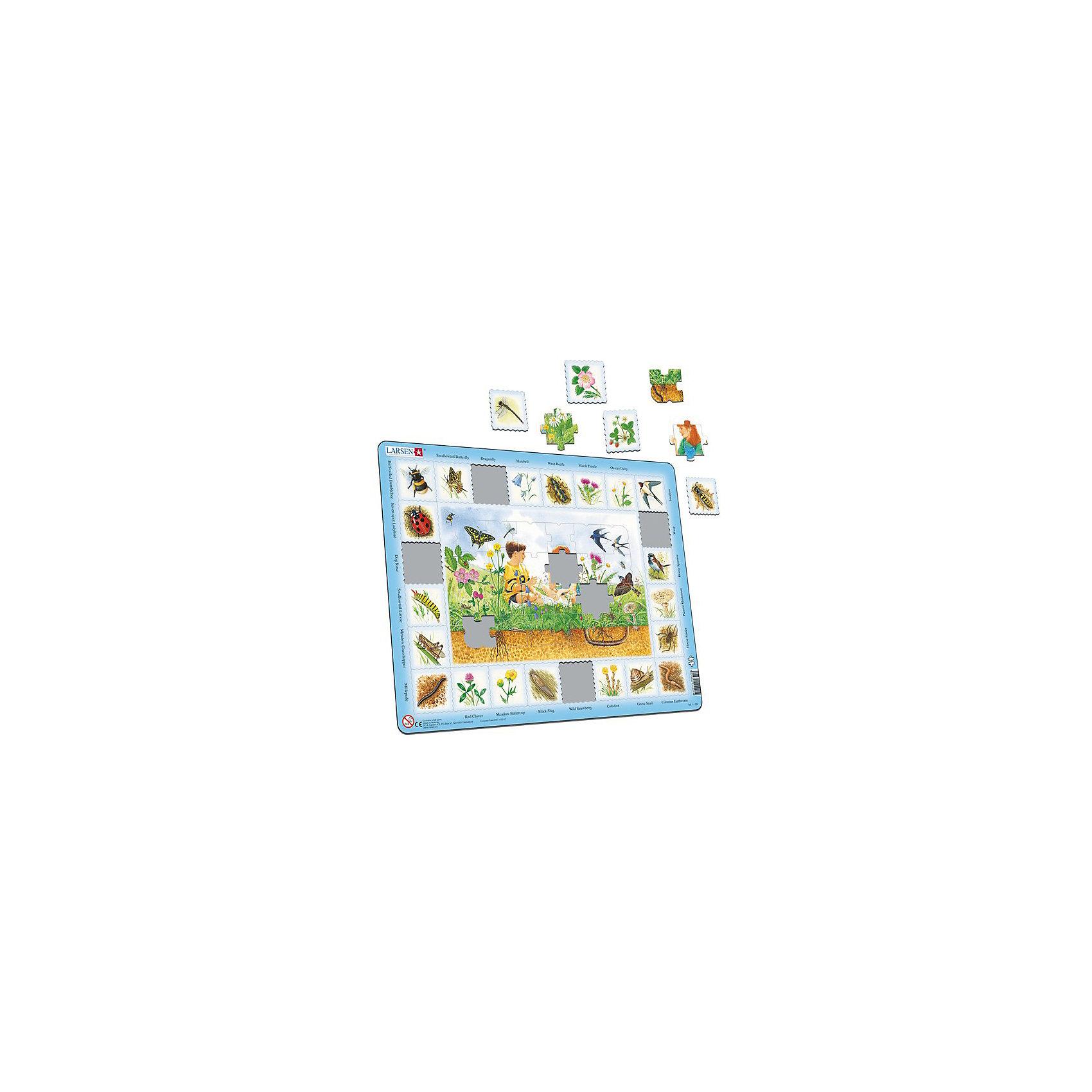 Пазл Горы, 48 деталей, LarsenПазлы для малышей<br>Пазлы Ларсен - это прежде всего обучающие пазлы. Данная серия в игровой форме знакомит детей от 3 лет с животным и растительным миром. В центре пазла изображен сюжет с ландшафтом, а по контуру необходимо правильно выложить его обитателей. Подсказкой служат отпечатанные на картоне названия, которые помогут самым маленьким найти правильный ответ. <br><br>Яркие и оригинальные пазлы норвежского бренда Ларсен радуют детей и взрослых. Каждый пазл - настоящая картина, которую необходимо собрать, чтобы восхищаться удивительными изображениями. <br><br>Пазлы Ларсен всесторонне влияют на развитие малыша. В процессе игры с мелкими деталями развивается моторика пальчиков, красочные картинки стимулируют воображение, мышление и память. <br><br>Детали пазла выполнены из качественного трехслойного картона.<br><br>Ширина мм: 365<br>Глубина мм: 5<br>Высота мм: 285<br>Вес г: 320<br>Возраст от месяцев: 36<br>Возраст до месяцев: 1188<br>Пол: Унисекс<br>Возраст: Детский<br>SKU: 4761488