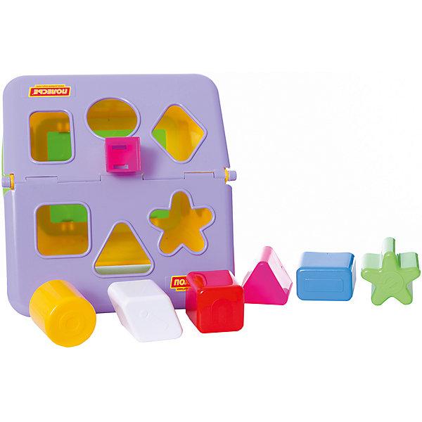 Садовый домик, ПолесьеРазвивающие игрушки<br>Садовый домик, Полесье.<br><br>Характеристики:<br><br>-В наборе: домик, 6 разноцветных блоков<br>- Размер домика: 22x16x20 см.<br>- Материал: высококачественная пластмасса<br>- Упаковка: сетка<br><br>Красочный сортер Садовый домик- это игрушка, которая не оставит равнодушным ни одного ребенка! Яркие детали разной формы, веселые цвета и непростые задачки надолго удерживают внимание малыша. В наборе шесть разноцветных деталей, а в крыше домика есть отверстия, в которые нужно вставлять вкладыши: звездочку, круг, квадрат, прямоугольник, треугольник, ромб. Доставать детальки можно через открывающуюся крышу. Занятия с игрушкой развивают логическое мышление малыша, координацию движений и моторику рук, а также знакомит ребенка с геометрическими фигурами, цветами.<br><br>Садовый домик, Полесье можно купить в нашем интернет-магазине.<br>Ширина мм: 217; Глубина мм: 207; Высота мм: 190; Вес г: 420; Возраст от месяцев: 24; Возраст до месяцев: 60; Пол: Унисекс; Возраст: Детский; SKU: 4763428;
