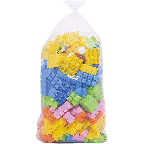 Конструктор Малютка, 284 дет., ПолесьеПластмассовые конструкторы<br>Конструктор Малютка, 284 дет., Полесье.<br><br>Характеристики:<br><br>- В комплекте: 284 детали<br>- Материал: высококачественная пластмасса<br>- Размер упаковки: 29x50x19 см.<br>- Упаковка: пакет<br><br>Конструктор «Малютка» состоит из деталей крупного размера и очень оригинальной формы крепления в виде кирпичиков! Детали конструктора отлично стыкуются друг с другом. Их нежные цвета особенно понравятся малышам. Из деталей конструктора можно собирать все, что подскажет фантазия ребенка. Конструктор предназначен для детей от 3 лет, так как содержит элементы (забор, окошечко, деревце), которые ребенок может попробовать погрызть или засунуть в рот. Все детали выполнены из качественной пластмассы и не имеют острых краев, окрашены пищевыми красителями. Игры, связанные с конструированием, оказывают положительное воздействие на развитие ребенка, способствуют развитию необходимых навыков, таких как: логика, мышление, цветовое и пространственное восприятие и, конечно, мышечная моторика.<br><br>Конструктор Малютка, 284 дет., Полесье можно купить в нашем интернет-магазине.<br><br>Ширина мм: 320<br>Глубина мм: 220<br>Высота мм: 460<br>Вес г: 2100<br>Возраст от месяцев: 36<br>Возраст до месяцев: 96<br>Пол: Унисекс<br>Возраст: Детский<br>SKU: 4763434