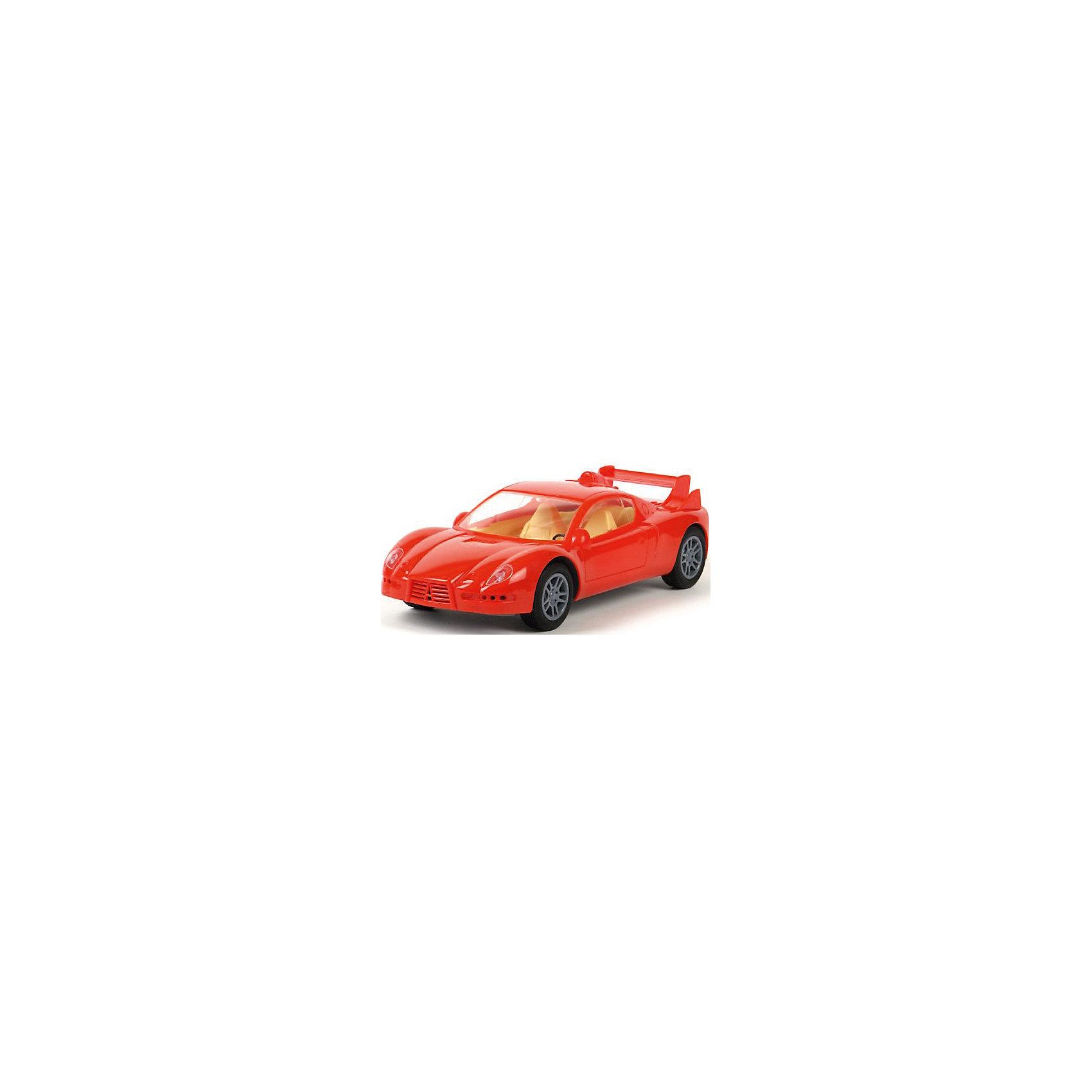 Инерционный автомобиль Молния, ПолесьеМашинки и транспорт для малышей<br>У автомобиля Молния несколько отличительных особенностей. Во-первых, автомобиль выполнен из материалов, обеспечивающих отличный внешний вид и надежность изделия. Во-вторых, инерционный механизм и обрезиненные колеса делают автомобиль по-настоящему гоночным. Внимание! Инерционный механизм работает таким образом: взяв машинку в руку, следует разогнать колеса о поверхность (пол) по направлению ВПЕРЕД, затем, отпустить автомобиль и авто продемонстрирует Вам свои гоночные возможности! В-третьих, машина долго  сохранит свой первоначальный вид, поскольку надписи напечатаны на самом изделии и, в отличие от наклеек, не сотрутся при многократной мойке авто. Ну и, конечно же, дизайн гоночного авто понравится каждому любителю автомобилей. Дополнить коллекцию инерционных автомобилей можно дгугими машинами этой серии: ДПС Минск, RACING, Военная автоинспекция, POLIZEI,  ДПС Москва, ДПС  Санкт-Петербург-2 и другие. (ДПС Казань, ДПС Волгоград, ДПС Екатеринбург, ДПС Новосибирск, ДПС Челябинск, ДПС Самара).<br><br>Ширина мм: 260<br>Глубина мм: 115<br>Высота мм: 80<br>Вес г: 330<br>Возраст от месяцев: 36<br>Возраст до месяцев: 96<br>Пол: Мужской<br>Возраст: Детский<br>SKU: 4763435