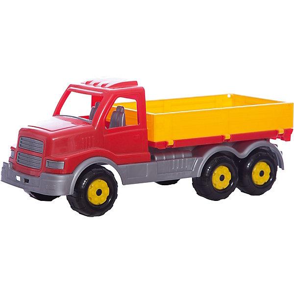 Автомобиль Сталкер, ПолесьеМашинки<br>Автомобиль Сталкер, Полесье.<br><br>Характеристики:<br><br>- Размер игрушки: 16,5х17х43 см.<br>- Материал: пластик<br>- Упаковка: сетка<br><br>Автомобиль Сталкер от фирмы Полесье идеально подходит как для игр дома, так и на улице. В его просторном кузове можно перевозить песок, формочки и другие игрушки. В водительской кабине предусмотрено два места: для водителя и пассажира. Колесная база представлена тремя парами пластиковых рельефных колес, которые обеспечивают машине отличную проходимость. Игрушка изготовлена из безопасного пластика, отличается высокой прочностью и отличным качеством сборки.<br><br>Автомобиль Сталкер, Полесье можно купить в нашем интернет-магазине.<br>Ширина мм: 445; Глубина мм: 165; Высота мм: 185; Вес г: 830; Возраст от месяцев: 36; Возраст до месяцев: 96; Пол: Мужской; Возраст: Детский; SKU: 4763440;