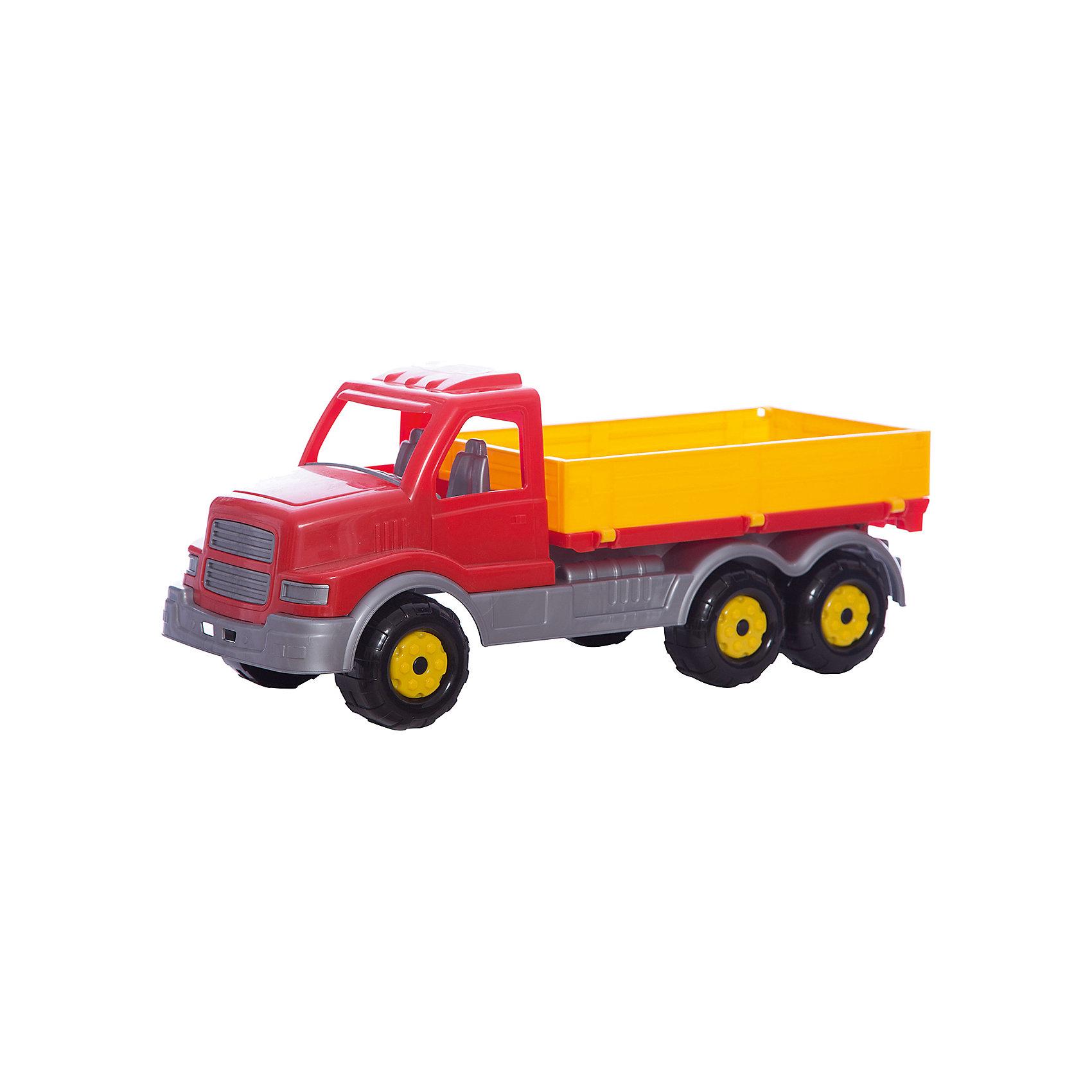 Автомобиль Сталкер, ПолесьеИграем в песочнице<br>Автомобиль Сталкер, Полесье.<br><br>Характеристики:<br><br>- Размер игрушки: 16,5х17х43 см.<br>- Материал: пластик<br>- Упаковка: сетка<br><br>Автомобиль Сталкер от фирмы Полесье идеально подходит как для игр дома, так и на улице. В его просторном кузове можно перевозить песок, формочки и другие игрушки. В водительской кабине предусмотрено два места: для водителя и пассажира. Колесная база представлена тремя парами пластиковых рельефных колес, которые обеспечивают машине отличную проходимость. Игрушка изготовлена из безопасного пластика, отличается высокой прочностью и отличным качеством сборки.<br><br>Автомобиль Сталкер, Полесье можно купить в нашем интернет-магазине.<br><br>Ширина мм: 445<br>Глубина мм: 165<br>Высота мм: 185<br>Вес г: 830<br>Возраст от месяцев: 36<br>Возраст до месяцев: 96<br>Пол: Мужской<br>Возраст: Детский<br>SKU: 4763440