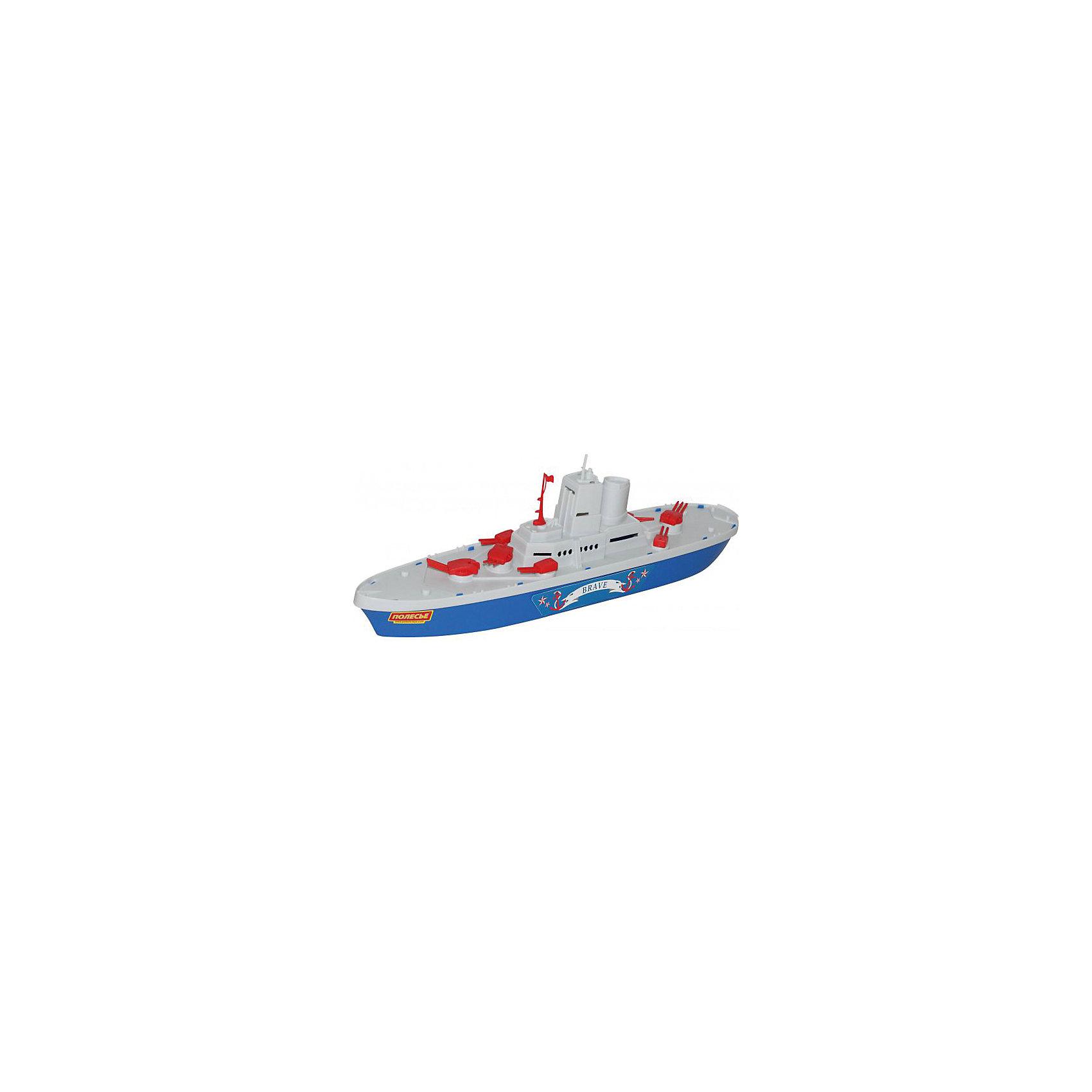 Крейсер Смелый, ПолесьеКорабли и лодки<br>Паром Лагуна  создан для активного отдыха всей семьи. Его можно взять с собой на природу и запускать в небольших водоёмах. Катер имеет индивидуальный стиль и яркую расцветку.<br><br>Ширина мм: 463<br>Глубина мм: 92<br>Высота мм: 135<br>Вес г: 330<br>Возраст от месяцев: 36<br>Возраст до месяцев: 96<br>Пол: Мужской<br>Возраст: Детский<br>SKU: 4763451