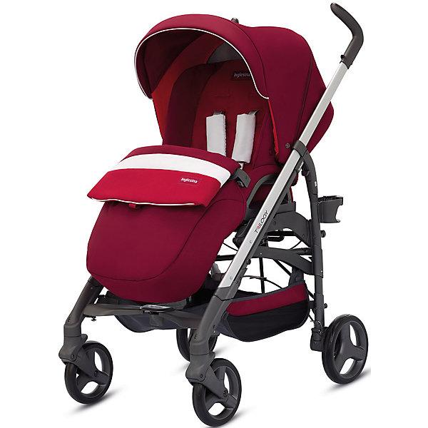 Прогулочная коляска Inglesina Trilogy, AmarenaПрогулочные коляски<br>Прогулочная коляска Trilogy - прекрасный вариант для малышей и их родителей! Модель имеет прочную алюминиевую раму, систему амортизации, передние поворотные колеса, с возможностью фиксации. Модель легко складывается, имеет ножной тормоз и небольшую ширину шасси, благодаря которой коляска войдет даже в самый узкий дверной проем. С помощью системы Easy Clips, прогулочный блок одним движением руки устанавливается и снимается с шасси. Прогулочный блок переставляется лицом к маме или по направлению движения Удобное сиденье, объемный капюшон со смотровым окошком, регулируемые подножка и спинка обеспечат малышу спокойный и комфортный отдых, а пятиточечные страховочные ремни с мягкими накладками и съемный бампер гарантируют безопасность. Чехол прогулочного блока выполнен из прочных материалов, он легко снимается и стирается в теплой воде. <br><br>Дополнительная информация:<br><br>- Материал: пластик, резина, текстиль, алюминий.<br>- Тип складывания: трость. <br>- Размер в разложенном виде: 83х57х107 см. <br>- Размер в сложенном виде: 48х37х97 см.<br>- Ширина шасси: 57 см.<br>- Количество колес: 4.<br>- Колеса с подшипниками. <br>- Диаметр колес: передних - 17,5 см; задних - 20,5 см.<br>- Вес: 9,5 кг.<br>- Передние колеса поворотные с возможностью фиксации. <br>- Регулируемая спинка (в 4-хположениях, до горизонтального).<br>- Регулируемая подножка (в 2-х положениях).<br>- 5-титочечные ремни безопасности.<br>- Съемный бампер.<br>- Капюшон со смотровым окошком. <br>- Регулируемая по высоте ручка. <br>- Максимальный вес ребенка: 15 кг. <br>- Вместительная корзина для вещей. <br>- Комплектация: накидка на ножки, дождевик, подстаканник. <br><br>Прогулочную коляску Trilogy, Inglesina (Инглезина), Amarena, можно купить в нашем магазине.<br><br>Ширина мм: 1000<br>Глубина мм: 324<br>Высота мм: 415<br>Вес г: 13150<br>Возраст от месяцев: 6<br>Возраст до месяцев: 36<br>Пол: Унисекс<br>Возраст: Детский<br>SKU: 4764227