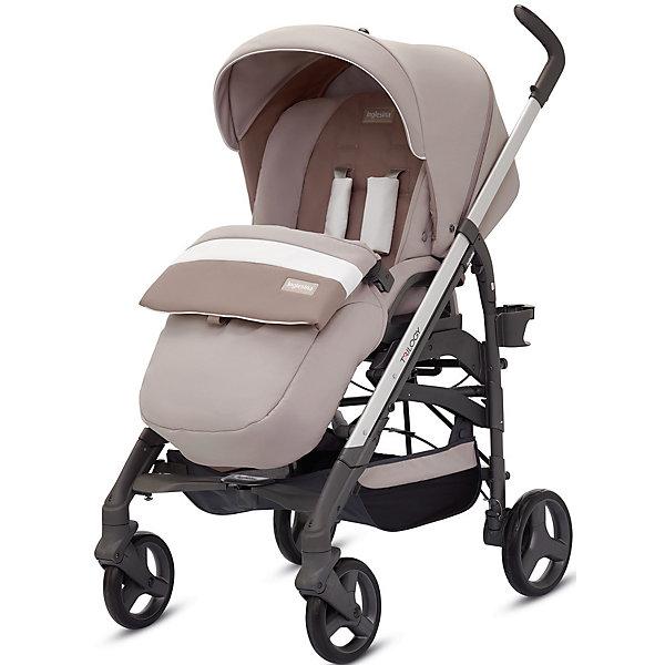 Прогулочная коляска Inglesina Trilogy, EcruПрогулочные коляски<br>Прогулочная коляска Trilogy - прекрасный вариант для малышей и их родителей! Модель имеет прочную алюминиевую раму, систему амортизации, передние поворотные колеса, с возможностью фиксации. Модель легко складывается, имеет ножной тормоз и небольшую ширину шасси, благодаря которой коляска войдет даже в самый узкий дверной проем. С помощью системы Easy Clips, прогулочный блок одним движением руки устанавливается и снимается с шасси. Прогулочный блок переставляется лицом к маме или по направлению движения Удобное сиденье, объемный капюшон со смотровым окошком, регулируемые подножка и спинка обеспечат малышу спокойный и комфортный отдых, а пятиточечные страховочные ремни с мягкими накладками и съемный бампер гарантируют безопасность. Чехол прогулочного блока выполнен из прочных материалов, он легко снимается и стирается в теплой воде. <br><br>Дополнительная информация:<br><br>- Материал: пластик, резина, текстиль, алюминий.<br>- Тип складывания: трость. <br>- Размер в разложенном виде: 83х57х107 см. <br>- Размер в сложенном виде: 48х37х97 см.<br>- Ширина шасси: 57 см.<br>- Количество колес: 4.<br>- Колеса с подшипниками. <br>- Диаметр колес: передних - 17,5 см; задних - 20,5 см.<br>- Вес: 9,5 кг.<br>- Передние колеса поворотные с возможностью фиксации. <br>- Регулируемая спинка (в 4-хположениях, до горизонтального).<br>- Регулируемая подножка (в 2-х положениях).<br>- 5-титочечные ремни безопасности.<br>- Съемный бампер.<br>- Капюшон со смотровым окошком. <br>- Регулируемая по высоте ручка. <br>- Максимальный вес ребенка: 15 кг. <br>- Вместительная корзина для вещей. <br>- Комплектация: накидка на ножки, дождевик, подстаканник. <br><br>Прогулочную коляску Trilogy, Inglesina (Инглезина), Ecru, можно купить в нашем магазине.<br><br>Ширина мм: 1000<br>Глубина мм: 324<br>Высота мм: 415<br>Вес г: 13150<br>Возраст от месяцев: 6<br>Возраст до месяцев: 36<br>Пол: Унисекс<br>Возраст: Детский<br>SKU: 4764228