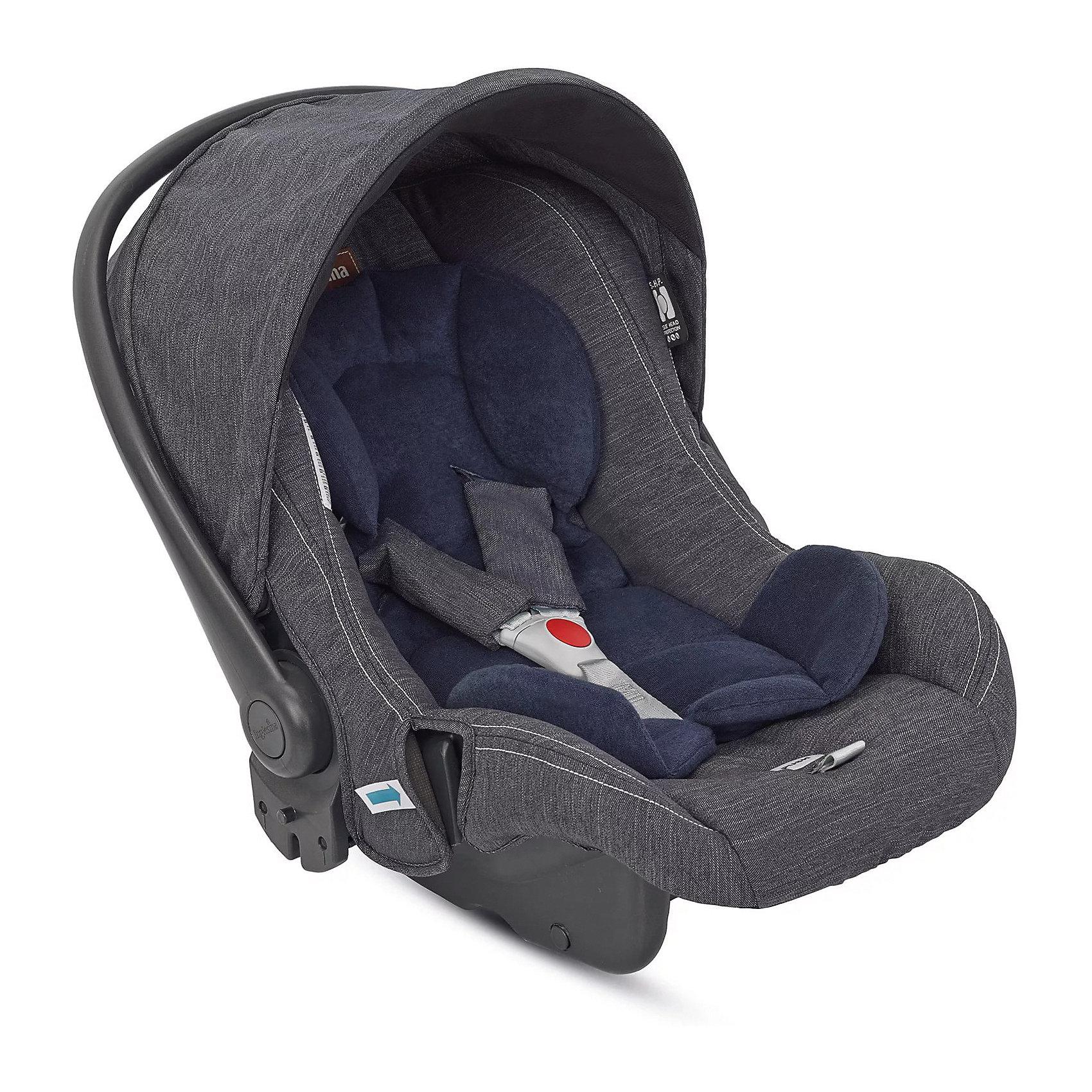 Автокресло Huggy MULTIFIX 0-13 кг., Inglesina, EcruАвтокресло Huggy MULTIFIX обеспечит малышам комфорт и безопасность во время поездок на автомобиле. Кресло обладает регулируемой спинкой, технология Side Head Protection защитит малышей от боковых ударов. Автокресло легко установить в автомобиле с его базой, в обыкновенной комплектации или в комплектации Isofix (покупается отдельно) или без нее. Кресло сочетается с коляской Trilogy, делая детское транспортное средство максимально компактным. Это идеальный вариант для прогулок по людным местам. Благодаря системе Easy Clip, процесс установки автокресла на шасси максимально упрощен.  Мягкий вкладыш и 3-точечные страховочные ремни обеспечат малышам максимальный комфорт и безопасность. Кресло имеет эргономичную ручку для переноски, которая регулируется в 4 положениях. Тканевый чехол легко снимается и стирается при температуре не более 30 градусов в режиме деликатной стирки.<br><br>Дополнительная информация:<br><br>- Материал: текстиль, пластик, металл.<br>- Размер: 68х42х55 см.<br>- Вес: 3,7 кг.<br>- Группа 0+ (до 13 кг).<br>- Устанавливается против хода движения. <br>- Трехточечные ремни безопасности.<br>- Мягкий вкладыш. <br>- Индикаторы правильного крепления кресла.<br>- Фиксация в авто штатными ремнями.<br>- Установка в коляске Trilogy креплением Easy Clip.<br>- Удобная ручка-переноска, регулируемая в 4 положениях.<br>- В комплекте: нескользящий анатомический вкладыш, капюшон.<br><br>Автокресло Huggy MULTIFIX 0-13 кг., Inglesina (Инглезина), Ecru, можно купить в нашем магазине.<br><br>Ширина мм: 440<br>Глубина мм: 385<br>Высота мм: 725<br>Вес г: 5300<br>Цвет: бежевый<br>Возраст от месяцев: 0<br>Возраст до месяцев: 18<br>Пол: Унисекс<br>Возраст: Детский<br>SKU: 4764247
