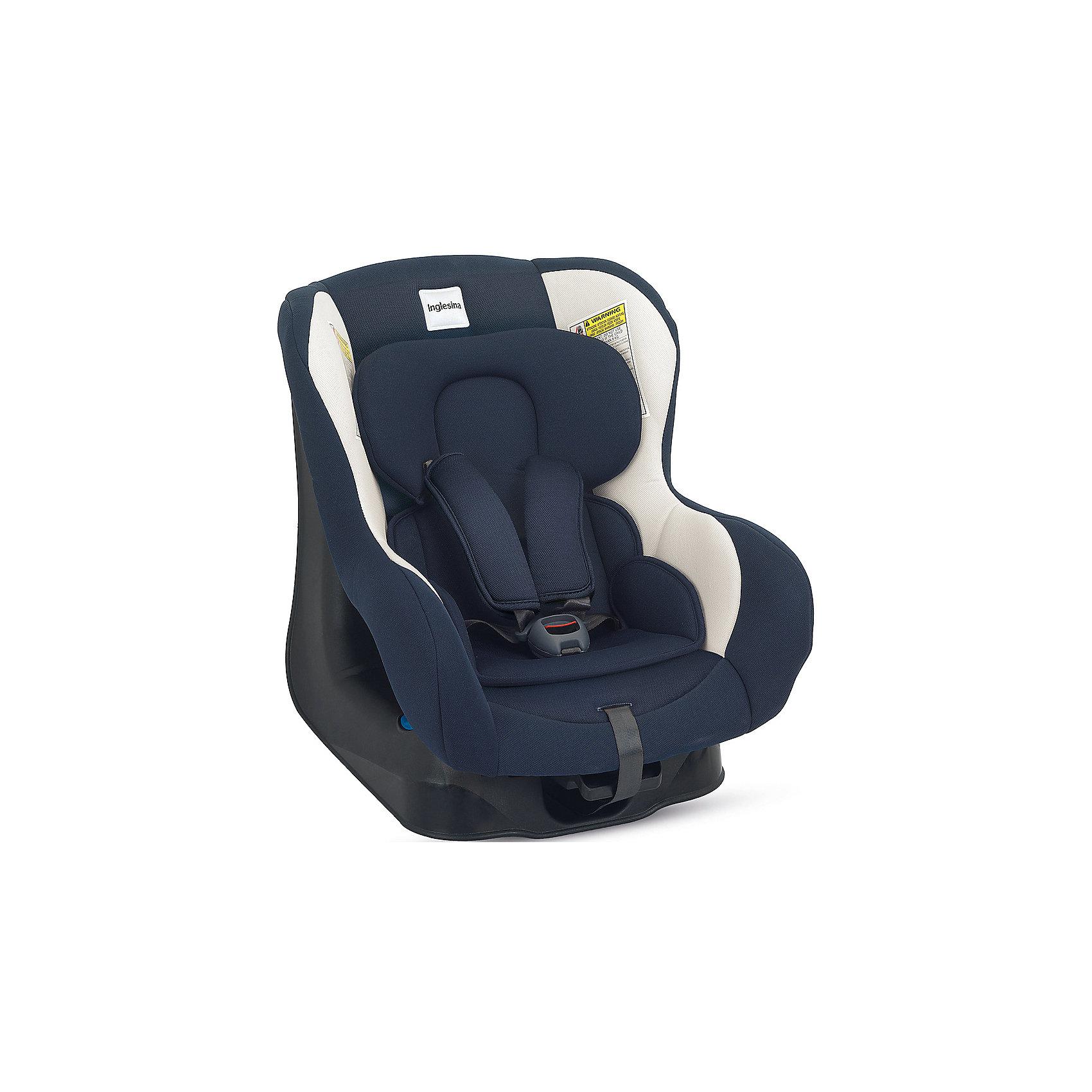 Автокресло Inglesina Magellano 0-18 кг, BlueГруппа 0+, 1 (До 18 кг)<br>Автокресло Magellano - прекрасный вариант для малышей, с ним поездки в автомобиле всегда будут безопасными и комфортными. Технология Side Head Protection защитит малышей от боковых ударов. Кресло обладает удобной универсальной конструкцией и приятной на ощупь обивкой. Чехлы сшиты из практичной и прочной ткани. Их можно снимать и стирать в режиме деликатной стирки. Модель предусматривает уютный вкладыш для малышей с ремнями безопасности с мягкими накладками. Для еще более комфортного отдыха, угол наклона спинки регулируется. <br><br>Дополнительная информация:<br><br>- Материал: текстиль, пластик, металл.<br>- Размер: 44х59х54 см.<br>- Вес: 6 кг.<br>- Группа 0+/1 (до 18 кг).<br>- Устанавливается по ходу и против хода движения. <br>- Ремни безопасности.<br>- Мягкий вкладыш. <br>- Крепится в автомобиле с помощью штатных ремней.<br><br>Автокресло Magellano 0-18 кг., Inglesina (Инглезина), Blue, можно купить в нашем магазине.<br><br>Ширина мм: 590<br>Глубина мм: 460<br>Высота мм: 625<br>Вес г: 8500<br>Возраст от месяцев: 0<br>Возраст до месяцев: 48<br>Пол: Унисекс<br>Возраст: Детский<br>SKU: 4764249