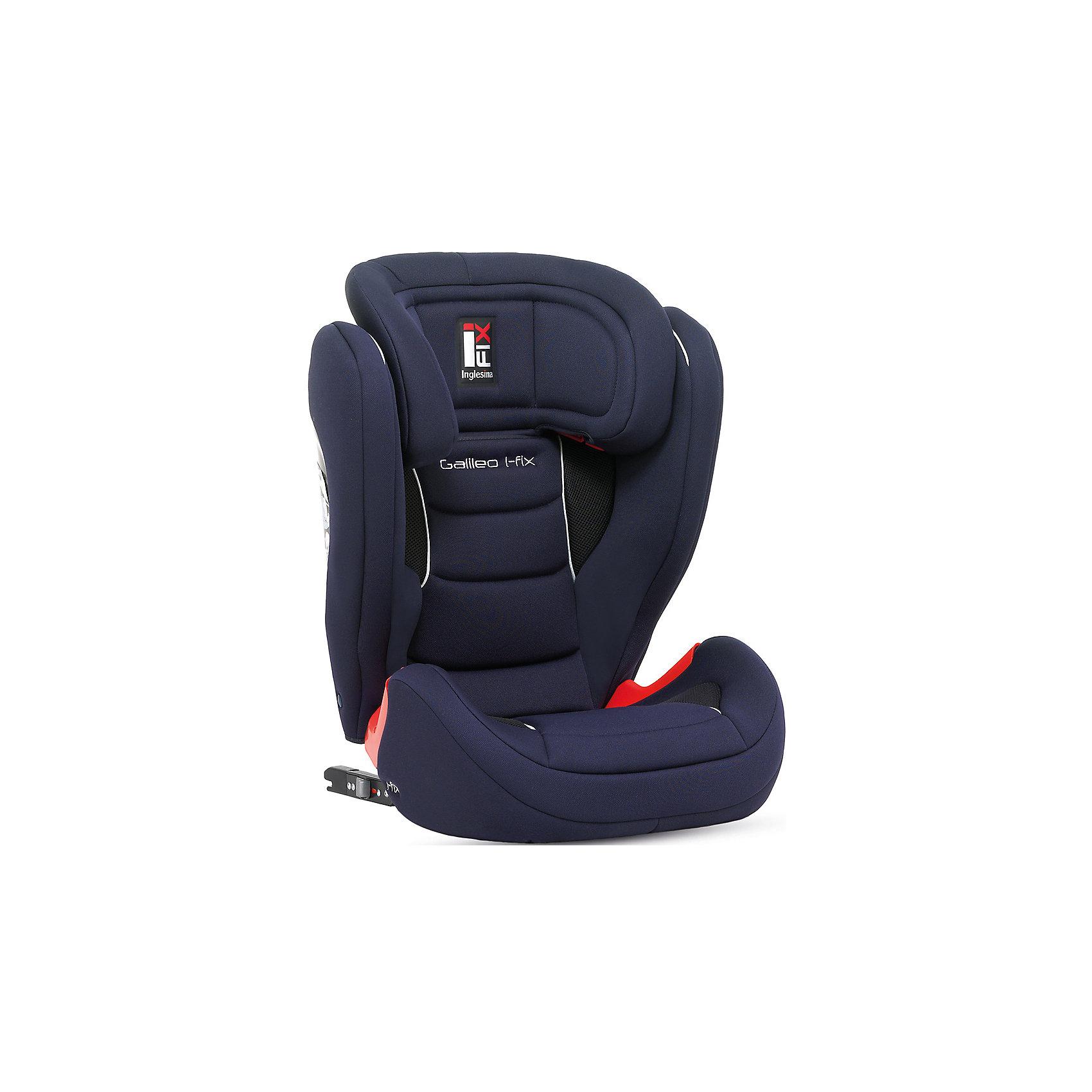 Автокресло Galileo 15-36 кг., Inglesina, BlueАвтокресло Galileо - прекрасный вариант для вашего ребенка! Его легко установить в автомобиле с помощью крепления IsoFIX или без нее. Технология Side Head Protection защитит детей от боковых ударов. Очень широкое, мягкое, эргономичное сиденье сделает длинное путешествие комфортным. Кресло имеет вентилируемую спинку, обивка кресла выполнена из дышащих, гипоаллергенных материалов, абсолютно безопасных для детей. В зависимости от роста ребенка подголовник регулируется по высоте в 9 положения. Устанавливается по ходу движения. <br><br>Дополнительная информация:<br><br>- Материал: пластик, текстиль, металл.<br>- Размер: 47х49х68/85 см. <br>- Вес: 9 кг.<br>- Может трансформироваться в бустер. <br>- Регулируемый в 9 положениях подголовник.<br>- Крепится с помощью системы IsoFIX или без нее.<br>- Вентилируемая спинка.<br>- Съемные чехлы можно стирать в режиме деликатной стирки.<br><br>Автокресло Galileo 15-36 кг., Inglesina (Инглезина), Blue, можно купить в нашем магазине.<br><br>Ширина мм: 495<br>Глубина мм: 450<br>Высота мм: 690<br>Вес г: 10400<br>Возраст от месяцев: 36<br>Возраст до месяцев: 144<br>Пол: Унисекс<br>Возраст: Детский<br>SKU: 4764252