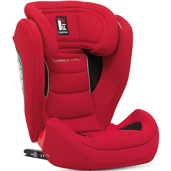 Автокресло Inglesina Galileo 15-36 кг, RedГруппа 2-3  (от 15 до 36 кг)<br>Автокресло Galileо - прекрасный вариант для вашего ребенка! Его легко установить в автомобиле с помощью крепления IsoFIX или без нее. Технология Side Head Protection защитит детей от боковых ударов. Очень широкое, мягкое, эргономичное сиденье сделает длинное путешествие комфортным. Кресло имеет вентилируемую спинку, обивка кресла выполнена из дышащих, гипоаллергенных материалов, абсолютно безопасных для детей. В зависимости от роста ребенка подголовник регулируется по высоте в 9 положения. Устанавливается по ходу движения. <br><br>Дополнительная информация:<br><br>- Материал: пластик, текстиль, металл.<br>- Размер: 47х49х68/85 см. <br>- Вес: 9 кг.<br>- Может трансформироваться в бустер. <br>- Регулируемый в 9 положениях подголовник.<br>- Крепится с помощью системы IsoFIX или без нее.<br>- Вентилируемая спинка.<br>- Съемные чехлы можно стирать в режиме деликатной стирки.<br><br>Автокресло Galileo 15-36 кг., Inglesina (Инглезина), Red, можно купить в нашем магазине.<br><br>Ширина мм: 495<br>Глубина мм: 450<br>Высота мм: 690<br>Вес г: 10400<br>Возраст от месяцев: 36<br>Возраст до месяцев: 144<br>Пол: Унисекс<br>Возраст: Детский<br>SKU: 4764254