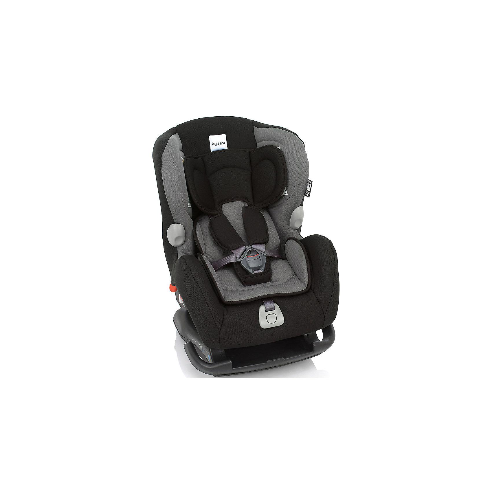 Автокресло Inglesina Marco Polo 0-18 кг, BlackГруппа 0+, 1 (До 18 кг)<br>Автокресло Marco Polo - прекрасный вариант для малышей, с ним поездки в автомобиле всегда будут безопасными и комфортными. Технология Side Head Protection защитит малышей от боковых ударов. Модель имеет подушку для поддержки головы из дышащего материала для новорожденных детей и шесть режимов наклона сиденья для комфортного отдыха во время путешествий. Кресло обладает удобной универсальной конструкцией и приятной на ощупь обивкой. Чехлы сшиты из практичной и прочной ткани. Их можно снимать и стирать в режиме деликатной стирки. Модель предусматривает уютный вкладыш для малышей с пятиточечными ремнями безопасности с мягкими накладками.  <br><br>Дополнительная информация:<br><br>- Материал: текстиль, пластик, металл.<br>- Размер: 58х44х65 см.<br>- Вес: 6 кг.<br>- Группа 0+/1 (до 18 кг).<br>- Устанавливается по ходу и против хода движения. <br>- Пятиточечные ремни безопасности с мягкими накладками.<br>- Мягкий вкладыш. <br>- Крепится в автомобиле с помощью штатных ремней.<br>- Регулировка наклона спинки в 6 положениях.<br><br>Автокресло Marco Polo 0-18 кг., Inglesina (Инглезина), Black, можно купить в нашем магазине.<br><br>Ширина мм: 585<br>Глубина мм: 470<br>Высота мм: 605<br>Вес г: 10800<br>Возраст от месяцев: 0<br>Возраст до месяцев: 48<br>Пол: Унисекс<br>Возраст: Детский<br>SKU: 4764255