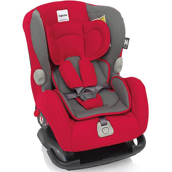 Автокресло Inglesina Marco Polo 0-18 кг, RedГруппа 0-1 (до 18 кг)<br>Автокресло Marco Polo - прекрасный вариант для малышей, с ним поездки в автомобиле всегда будут безопасными и комфортными. Технология Side Head Protection защитит малышей от боковых ударов. Модель имеет подушку для поддержки головы из дышащего материала для новорожденных детей и шесть режимов наклона сиденья для комфортного отдыха во время путешествий. Кресло обладает удобной универсальной конструкцией и приятной на ощупь обивкой. Чехлы сшиты из практичной и прочной ткани. Их можно снимать и стирать в режиме деликатной стирки. Модель предусматривает уютный вкладыш для малышей с пятиточечными ремнями безопасности с мягкими накладками.  <br><br>Дополнительная информация:<br><br>- Материал: текстиль, пластик, металл.<br>- Размер: 58х44х65 см.<br>- Вес: 6 кг.<br>- Группа 0+/1 (до 18 кг).<br>- Устанавливается по ходу и против хода движения. <br>- Пятиточечные ремни безопасности с мягкими накладками.<br>- Мягкий вкладыш. <br>- Крепится в автомобиле с помощью штатных ремней.<br>- Регулировка наклона спинки в 6 положениях.<br><br>Автокресло Marco Polo 0-18 кг., Inglesina (Инглезина), Red, можно купить в нашем магазине.<br><br>Ширина мм: 585<br>Глубина мм: 470<br>Высота мм: 605<br>Вес г: 10800<br>Возраст от месяцев: 0<br>Возраст до месяцев: 48<br>Пол: Унисекс<br>Возраст: Детский<br>SKU: 4764258