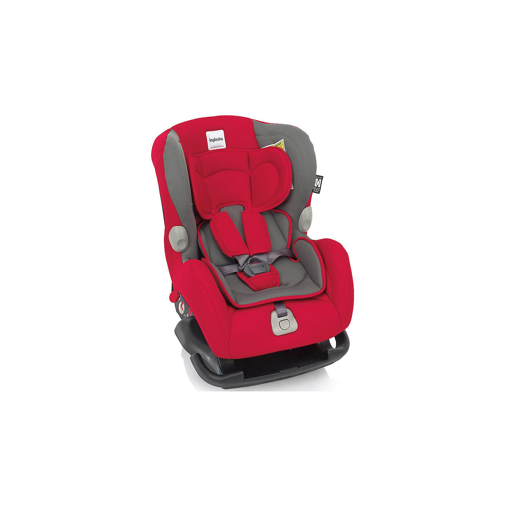 Автокресло Inglesina Marco Polo 0-18 кг, RedГруппа 0+, 1 (До 18 кг)<br>Автокресло Marco Polo - прекрасный вариант для малышей, с ним поездки в автомобиле всегда будут безопасными и комфортными. Технология Side Head Protection защитит малышей от боковых ударов. Модель имеет подушку для поддержки головы из дышащего материала для новорожденных детей и шесть режимов наклона сиденья для комфортного отдыха во время путешествий. Кресло обладает удобной универсальной конструкцией и приятной на ощупь обивкой. Чехлы сшиты из практичной и прочной ткани. Их можно снимать и стирать в режиме деликатной стирки. Модель предусматривает уютный вкладыш для малышей с пятиточечными ремнями безопасности с мягкими накладками.  <br><br>Дополнительная информация:<br><br>- Материал: текстиль, пластик, металл.<br>- Размер: 58х44х65 см.<br>- Вес: 6 кг.<br>- Группа 0+/1 (до 18 кг).<br>- Устанавливается по ходу и против хода движения. <br>- Пятиточечные ремни безопасности с мягкими накладками.<br>- Мягкий вкладыш. <br>- Крепится в автомобиле с помощью штатных ремней.<br>- Регулировка наклона спинки в 6 положениях.<br><br>Автокресло Marco Polo 0-18 кг., Inglesina (Инглезина), Red, можно купить в нашем магазине.<br><br>Ширина мм: 585<br>Глубина мм: 470<br>Высота мм: 605<br>Вес г: 10800<br>Возраст от месяцев: 0<br>Возраст до месяцев: 48<br>Пол: Унисекс<br>Возраст: Детский<br>SKU: 4764258