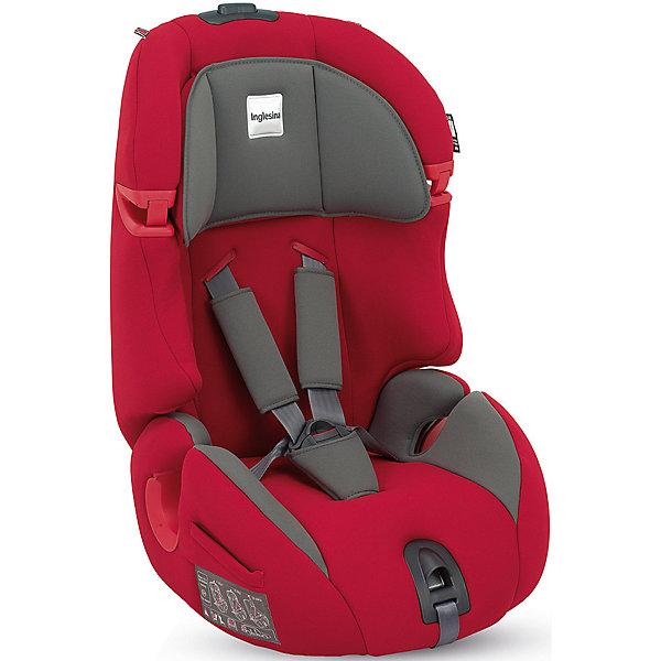 Автокресло Inglesina Prime Miglia 9-36 кг, RedГруппа 1-2-3  (от 9 до 36 кг)<br>Автокресло Prime Miglia - прекрасный вариант для поездок и путешествий. Сначала дети фиксируются в кресле внутренними ремнями с мягкими накладками, а когда ребенок подрастет (достигнет роста более 1 м) - обычными штатными ремнями автомобиля. Технология Side Head Protection защитит малышей от боковых ударов. Подголовник в Inglesina Prime Miglia можно регулировать по ширине. Он жёстко соединён со спинкой, поэтому регулировка высоты конструктивно осуществляется поднятием спинки. Кресло обладает удобной универсальной конструкцией и приятной на ощупь обивкой. Чехлы сшиты из практичной и прочной ткани. Их можно снимать и стирать в режиме деликатной стирки. <br><br>Дополнительная информация:<br><br>- Материал: текстиль, пластик, металл.<br>- Размер: 44x70x45 см.<br>- Вес: 6,9 кг.<br>- Может трансформироваться в бустер. <br>- Группа 1/2/3 (9-36 кг).<br>- Устанавливается по ходу  движения. <br>-  Внутренние пятиточечные ремни безопасности для малышей.<br>- Регулировка наклона спинки (в 6 положениях).<br>- Регулируемый подголовник (4 вертикальных положения, 5 горизонтальных положения.<br>- Съемные чехлы.<br><br>Автокресло Prime Miglia  9-36 кг., Inglesina (Инглезина), Red, можно купить в нашем магазине.<br><br>Ширина мм: 480<br>Глубина мм: 465<br>Высота мм: 845<br>Вес г: 8100<br>Возраст от месяцев: 9<br>Возраст до месяцев: 144<br>Пол: Унисекс<br>Возраст: Детский<br>SKU: 4764262