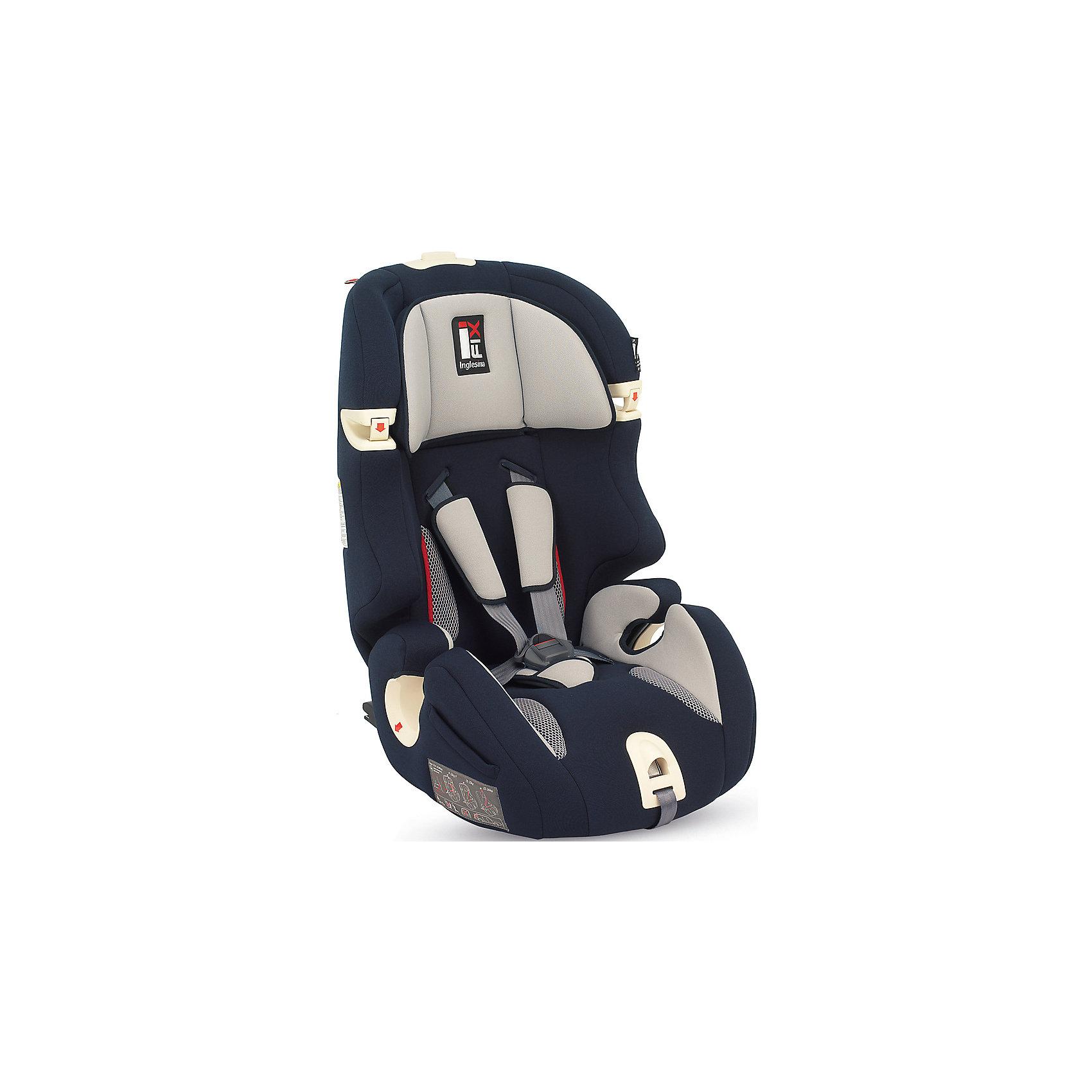 Автокресло Prime Miglia  9-36 кг. I-FIX, Inglesina, BlueАвтокресло Prime Miglia - прекрасный вариант для поездок и путешествий. Кресло крепится в машине с помощью креплений IsoFix. Сначала дети фиксируются  внутренними ремнями с мягкими накладками, а когда ребенок подрастет (достигнет роста более 1 м) - обычными штатными ремнями автомобиля. Технология Side Head Protection защитит малышей от боковых ударов. Подголовник в Inglesina Prime Miglia можно регулировать по ширине. Он жёстко соединён со спинкой, поэтому регулировка высоты конструктивно осуществляется поднятием спинки. Кресло обладает удобной универсальной конструкцией и приятной на ощупь обивкой. Чехлы сшиты из практичной и прочной ткани. Их можно снимать и стирать в режиме деликатной стирки. <br><br>Дополнительная информация:<br><br>- Материал: текстиль, пластик, металл.<br>- Крепится в машине с помощью креплений IsoFix (или обычным способом).<br>- Размер: 44x70x45 см.<br>- Вес: 6,9 кг.<br>- Может трансформироваться в бустер. <br>- Группа 1/2/3 (9-36 кг).<br>- Устанавливается по ходу  движения. <br>-  Внутренние пятиточечные ремни безопасности для малышей.<br>- Регулировка наклона спинки (в 6 положениях).<br>- Регулируемый подголовник (4 вертикальных положения, 5 горизонтальных положения.<br>- Съемные чехлы.<br><br>Автокресло Prime Miglia  9-36 кг. I-FIX, Inglesina (Инглезина), Blue, можно купить в нашем магазине.<br><br>Ширина мм: 480<br>Глубина мм: 465<br>Высота мм: 845<br>Вес г: 8600<br>Возраст от месяцев: 9<br>Возраст до месяцев: 144<br>Пол: Унисекс<br>Возраст: Детский<br>SKU: 4764264