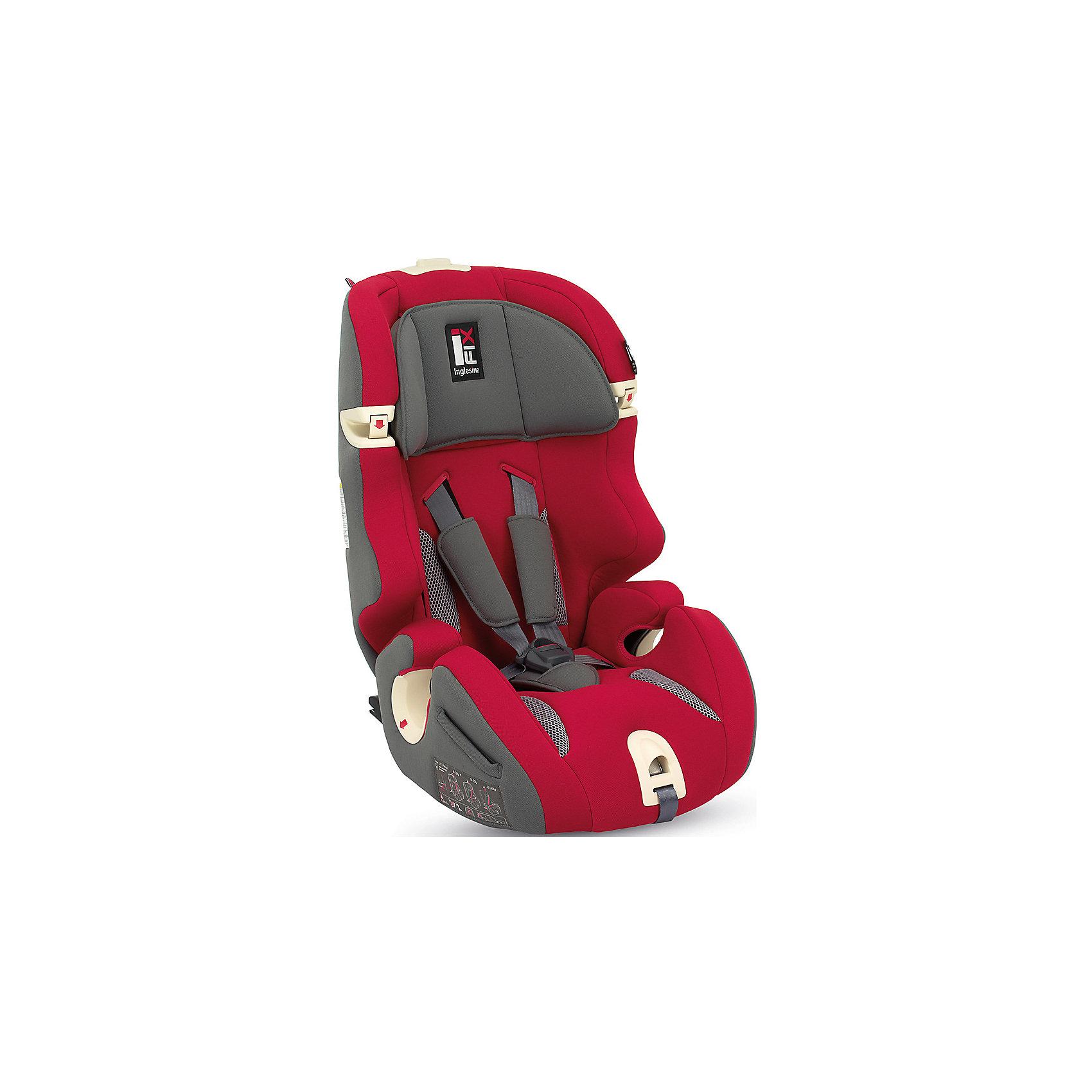 Автокресло Prime Miglia  9-36 кг. I-FIX, Inglesina, RedАвтокресло Prime Miglia - прекрасный вариант для поездок и путешествий. Кресло крепится в машине с помощью креплений IsoFix. Сначала дети фиксируются  внутренними ремнями с мягкими накладками, а когда ребенок подрастет (достигнет роста более 1 м) - обычными штатными ремнями автомобиля. Технология Side Head Protection защитит малышей от боковых ударов. Подголовник в Inglesina Prime Miglia можно регулировать по ширине. Он жёстко соединён со спинкой, поэтому регулировка высоты конструктивно осуществляется поднятием спинки. Кресло обладает удобной универсальной конструкцией и приятной на ощупь обивкой. Чехлы сшиты из практичной и прочной ткани. Их можно снимать и стирать в режиме деликатной стирки. <br><br>Дополнительная информация:<br><br>- Материал: текстиль, пластик, металл.<br>- Крепится в машине с помощью креплений IsoFix (или обычным способом).<br>- Размер: 44x70x45 см.<br>- Вес: 6,9 кг.<br>- Может трансформироваться в бустер. <br>- Группа 1/2/3 (9-36 кг).<br>- Устанавливается по ходу  движения. <br>-  Внутренние пятиточечные ремни безопасности для малышей.<br>- Регулировка наклона спинки (в 6 положениях).<br>- Регулируемый подголовник (4 вертикальных положения, 5 горизонтальных положения.<br>- Съемные чехлы.<br><br>Автокресло Prime Miglia  9-36 кг. I-FIX, Inglesina (Инглезина), Red, можно купить в нашем магазине.<br><br>Ширина мм: 480<br>Глубина мм: 465<br>Высота мм: 845<br>Вес г: 8600<br>Возраст от месяцев: 9<br>Возраст до месяцев: 144<br>Пол: Унисекс<br>Возраст: Детский<br>SKU: 4764265