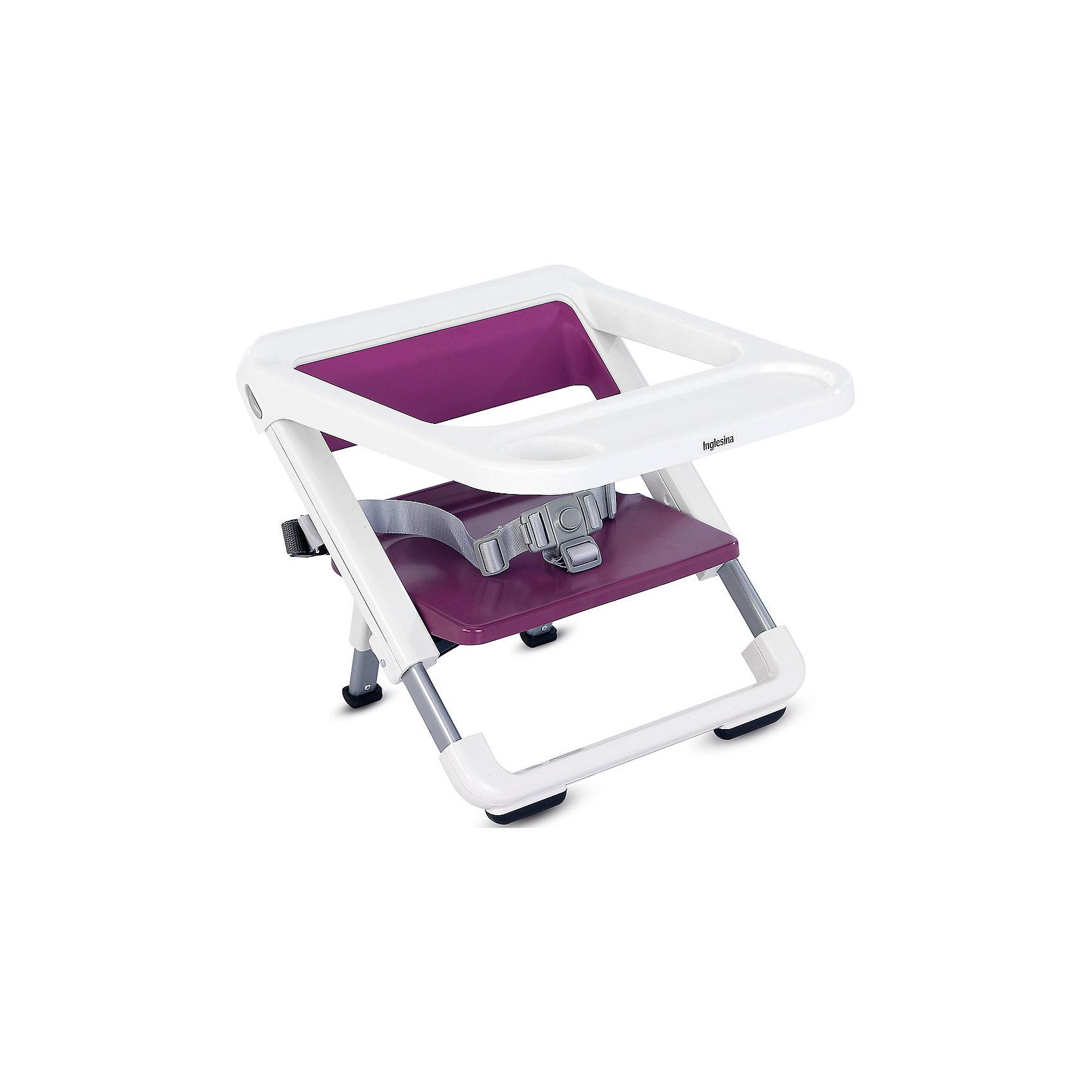 Переносной стул-подставка Brunch, Inglesina, grapeот +6 месяцев<br>Переносной стул-подставка Brunch невероятно компактный и удобный - прекрасный вариант для малышей и их родителей. Основательный, практичный и легкий, каркас Brunch подходит к большинству моделей стульев, позволяя ребенку сидеть за столом вместе со взрослыми. Практичный съемный поднос оказывается незаменимым для кормления малышей. Резиновая препятствующая скольжению подложка, имеющаяся на переднем держателе, защищает каркас от случайных и опасных соскальзываний со стула. Стул очень быстро складывается и убирается в практичную небольшую сумку (в комплекте), в сложенном состоянии занимает мало места. <br><br>Дополнительная информация:<br><br>- Материал: пластик, резина.<br>- Размер: 36,5 x 27,5/32,5 x 28/33 см.<br>- Размер в сложенном виде: 36,5 x 6 x 38 см.<br>- Вес: 2 кг.<br>- Ремни безопасности.<br>- Съемный поднос. <br>- Резиновая подножка.<br>- Сумка для переноски в комплекте.<br><br>Переносной стул-подставка Brunch, Inglesina (Инглезина), можно купить в нашем магазине.<br><br>Ширина мм: 387<br>Глубина мм: 276<br>Высота мм: 441<br>Вес г: 3020<br>Возраст от месяцев: 6<br>Возраст до месяцев: 36<br>Пол: Унисекс<br>Возраст: Детский<br>SKU: 4764275