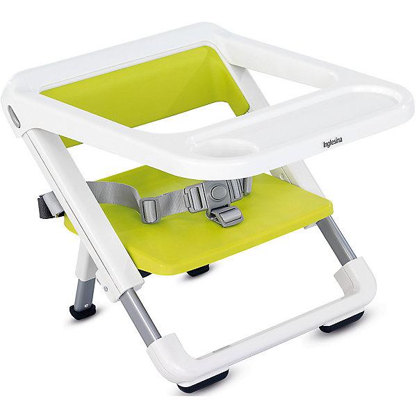 Переносной стул-подставка Brunch, Inglesina, limeСтульчики для кормления с 6 месяцев<br>Переносной стул-подставка Brunch невероятно компактный и удобный - прекрасный вариант для малышей и их родителей. Основательный, практичный и легкий, каркас Brunch подходит к большинству моделей стульев, позволяя ребенку сидеть за столом вместе со взрослыми. Практичный съемный поднос оказывается незаменимым для кормления малышей. Резиновая препятствующая скольжению подложка, имеющаяся на переднем держателе, защищает каркас от случайных и опасных соскальзываний со стула. Стул очень быстро складывается и убирается в практичную небольшую сумку (в комплекте), в сложенном состоянии занимает мало места. <br><br>Дополнительная информация:<br><br>- Материал: пластик, резина.<br>- Размер: 36,5 x 27,5/32,5 x 28/33 см.<br>- Размер в сложенном виде: 36,5 x 6 x 38 см.<br>- Вес: 2 кг.<br>- Ремни безопасности.<br>- Съемный поднос. <br>- Резиновая подножка.<br>- Сумка для переноски в комплекте.<br><br>Переносной стул-подставка Brunch, Inglesina (Инглезина), можно купить в нашем магазине.<br><br>Ширина мм: 387<br>Глубина мм: 276<br>Высота мм: 441<br>Вес г: 3020<br>Возраст от месяцев: 6<br>Возраст до месяцев: 36<br>Пол: Унисекс<br>Возраст: Детский<br>SKU: 4764277