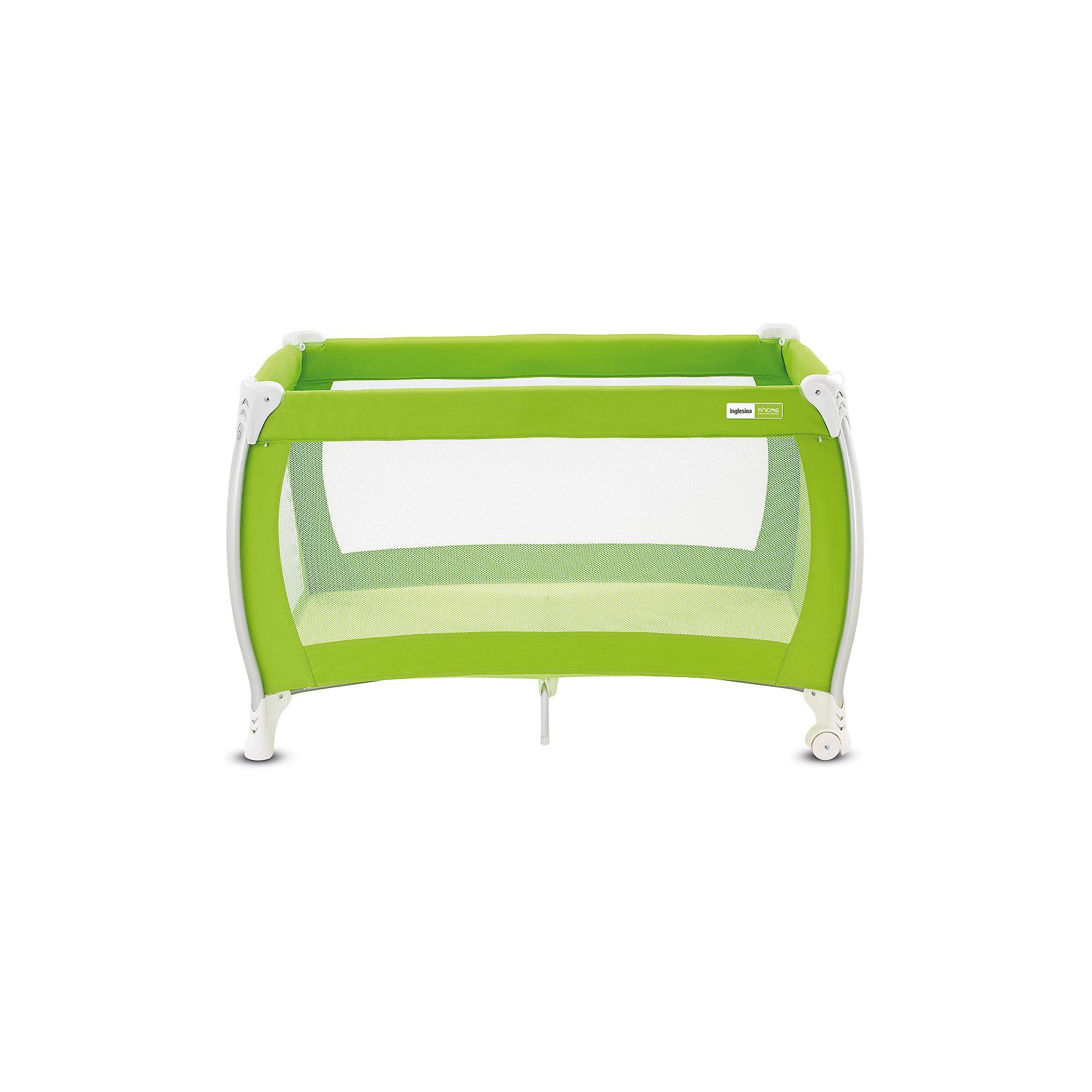 Манеж-кровать Lodge, Inglesina, limeМанежи-кроватки<br>Манеж-кровать Daily Plus - прекрасный вариант для малышей. Модель имеет 2 колесика со стопорами для удобного перемещения манежа. Стенки из сетчатого материала обеспечивают хорошую вентиляцию и обзор, дополнительные ножки-упоры гарантируют устойчивость и безопасность даже самым непоседливым малышам.  Манеж-кровать быстро и компактно складывается, колесики позволяют также перемещать модель в сложенном виде. В производстве изделия использованы только экологичные, безопасные для детей материалы. <br><br>Дополнительная информация:<br><br>- Материал: текстиль, пластик, металл. <br>- Размер: 79x126x72 см. <br>- Размер в сложенном виде: 26x79x26 см. <br>- 2 колесика для удобного перемещения.<br>- Дополнительные ножки-упоры. <br>- Регулировка по высоте (в 2 положениях).<br>- Легко и компактно складывается. <br>- Боковая дверца на молнии. <br>- Для детей от рождения и до 3 лет (весом до 14 кг).<br>- Комплектация: кроватка, основание под матрас, матрас <br>опоры для верхнего яруса,  трубы для дна верхнего яруса <br>москитная сетка,  сумка для транспортировки кроватки,  боковой карман.<br><br>Манеж-кровать Lodge, Inglesina (Инглезина), можно купить в нашем магазине.<br><br>Ширина мм: 250<br>Глубина мм: 250<br>Высота мм: 805<br>Вес г: 10300<br>Возраст от месяцев: 0<br>Возраст до месяцев: 36<br>Пол: Унисекс<br>Возраст: Детский<br>SKU: 4764281
