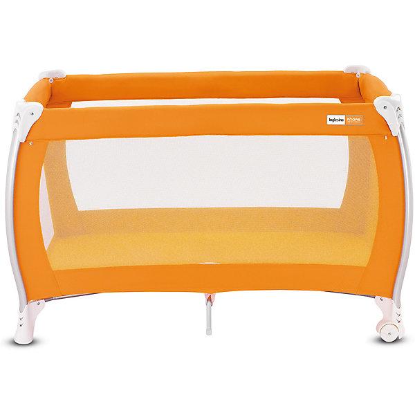Манеж-кровать Lodge, Inglesina, orangeМанежи-кровати<br>Манеж-кровать Daily Plus - прекрасный вариант для малышей. Модель имеет 2 колесика со стопорами для удобного перемещения манежа. Стенки из сетчатого материала обеспечивают хорошую вентиляцию и обзор, дополнительные ножки-упоры гарантируют устойчивость и безопасность даже самым непоседливым малышам.  Манеж-кровать быстро и компактно складывается, колесики позволяют также перемещать модель в сложенном виде. В производстве изделия использованы только экологичные, безопасные для детей материалы. <br><br>Дополнительная информация:<br><br>- Материал: текстиль, пластик, металл. <br>- Размер: 79x126x72 см. <br>- Размер в сложенном виде: 26x79x26 см. <br>- 2 колесика для удобного перемещения.<br>- Дополнительные ножки-упоры. <br>- Регулировка по высоте (в 2 положениях).<br>- Легко и компактно складывается. <br>- Боковая дверца на молнии. <br>- Для детей от рождения и до 3 лет (весом до 14 кг).<br>- Комплектация: кроватка, основание под матрас, матрас <br>опоры для верхнего яруса,  трубы для дна верхнего яруса <br>москитная сетка,  сумка для транспортировки кроватки,  боковой карман.<br><br>Манеж-кровать Lodge, Inglesina (Инглезина), можно купить в нашем магазине.<br>Ширина мм: 250; Глубина мм: 250; Высота мм: 805; Вес г: 10300; Возраст от месяцев: 0; Возраст до месяцев: 36; Пол: Унисекс; Возраст: Детский; SKU: 4764282;