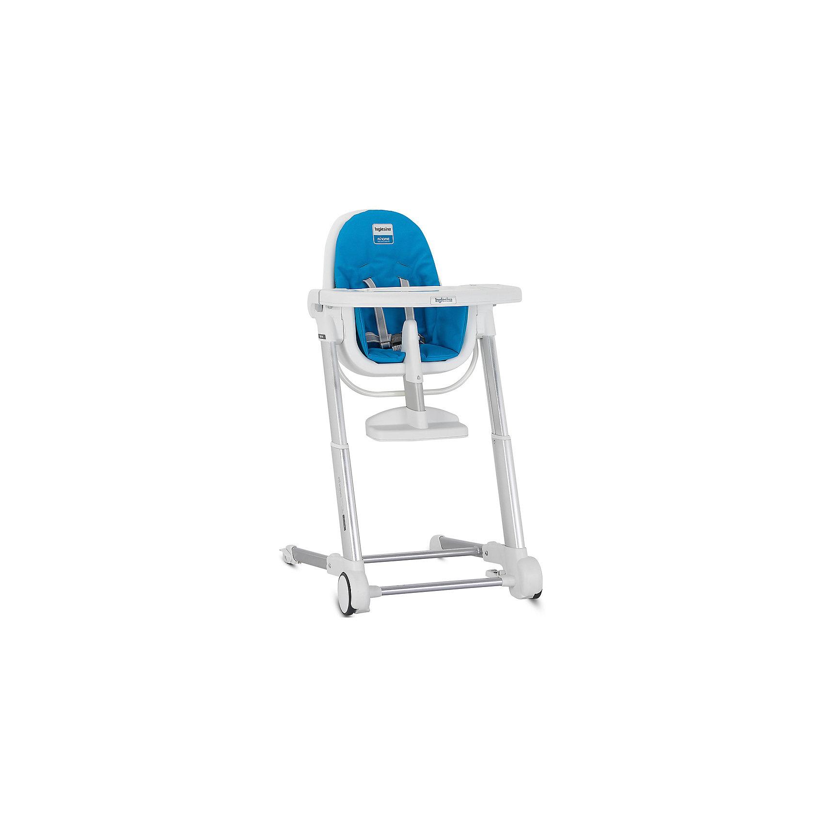 Inglesina Стульчик для кормления ZUMA, Inglesina, синий стул для кормления inglesina gusto ay94g3slf d