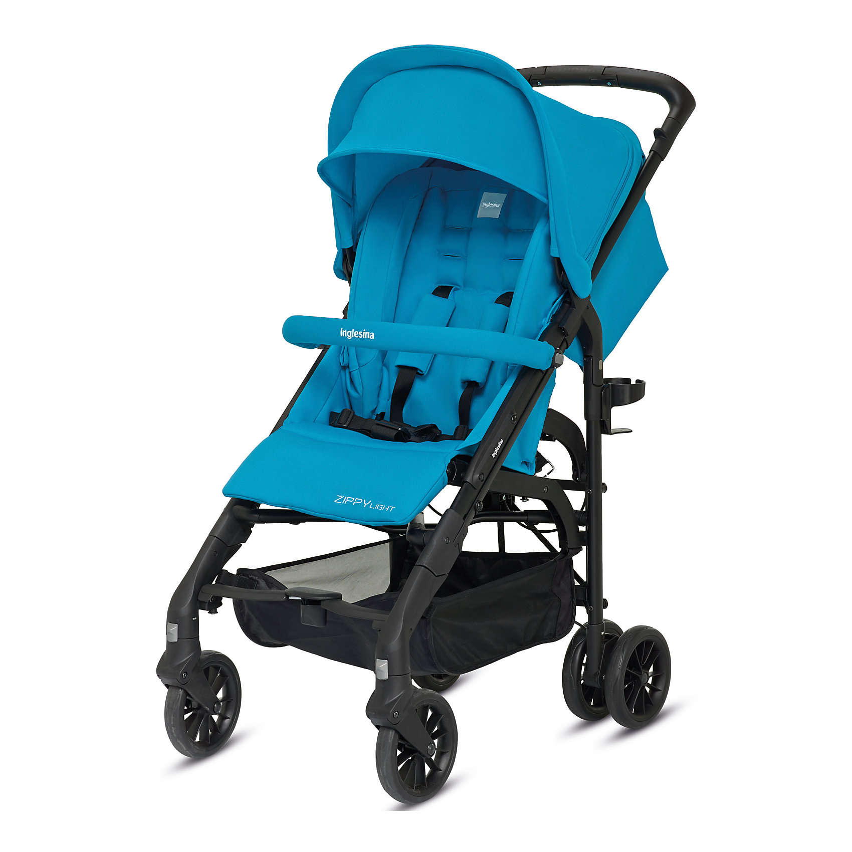 Inglesina Прогулочная коляска Zippy Light, Inglesina, Antigua Blue прогулочная коляска cool baby kdd 6699gb t fuchsia light grey