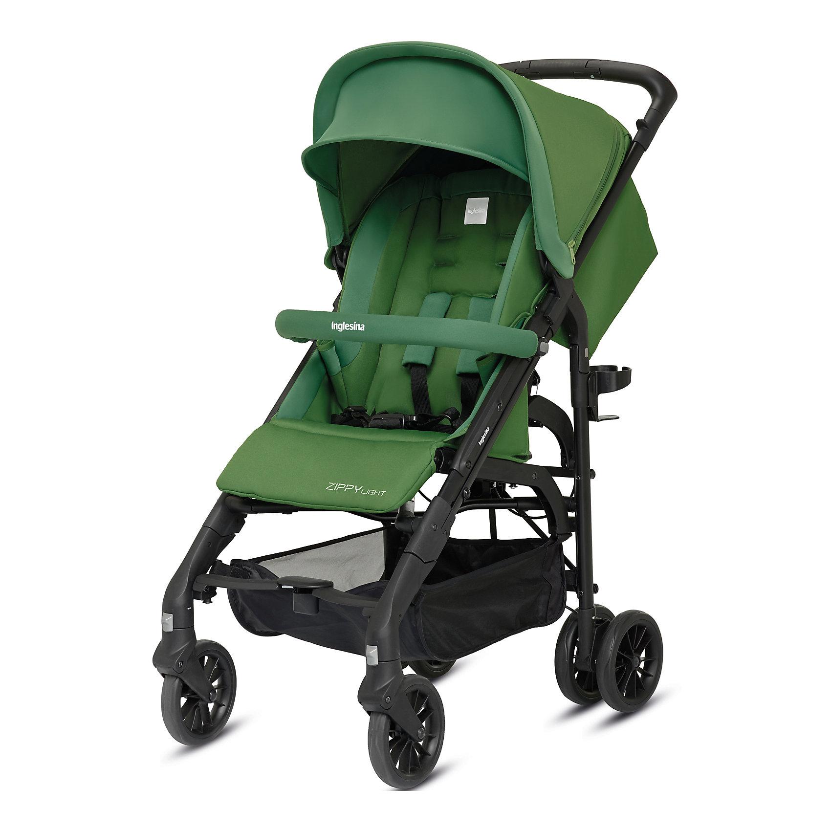 Прогулочная коляска Inglesina Zippy Light, Golf GreenПрогулочные коляски<br>Прогулочная коляска Zippy Light - легкая, компактная и маневренная модель - идеальный вариант для прогулок и путешествий. Сдвоенные задние и поворотные передние колеса обладают отличной проходимостью и подойдут для любого грунта. Мягкое удобное сиденье, страховочные ремни, откидной бампер и регулируемые спинка и подножка обеспечат комфортные и безопасные прогулки. Кроме того, модель оснащена широким капюшоном с защитой от солнца UPF 50+ и дышащей сетчатой вставкой для хорошего самочувствия ребенка летом. Коляска быстро и удобно складывается, в сложенном виде занимает очень мало места. <br><br>Дополнительная информация:<br><br>- Материал: пластик, резина, текстиль, алюминий.<br>- Тип складывания: трость. <br>- Размер в разложенном виде: 49x101,5x80 см.<br>- Размер в сложенном виде: 31x96x32 см.<br>- Ширина шасси: 49 см.<br>- Вес: 6,9 кг.<br>- Количество колес: 6 (задние сдвоенные)<br>- Диаметр колес: 16 см.<br>- Максимальный вес ребенка: 17 кг.<br>- Передние колеса поворотные с возможностью фиксации. <br>- Регулируемая спинка (до горизонтального положения ).<br>- Регулируемая подножка (в 2-х положениях).<br>- 5-титочечные ремни безопасности.<br>- Бампер перед ребенком.<br>- Капюшон с сетчатым окошком.<br>- Вместительная корзина для вещей. <br>- Комплектация: подстаканник, дождевик. <br><br>Прогулочную коляску Zippy Light, Inglesina (Инглезина), Golf Green, можно купить в нашем магазине.<br><br>Ширина мм: 1000<br>Глубина мм: 340<br>Высота мм: 270<br>Вес г: 8900<br>Возраст от месяцев: 6<br>Возраст до месяцев: 36<br>Пол: Унисекс<br>Возраст: Детский<br>SKU: 4764289