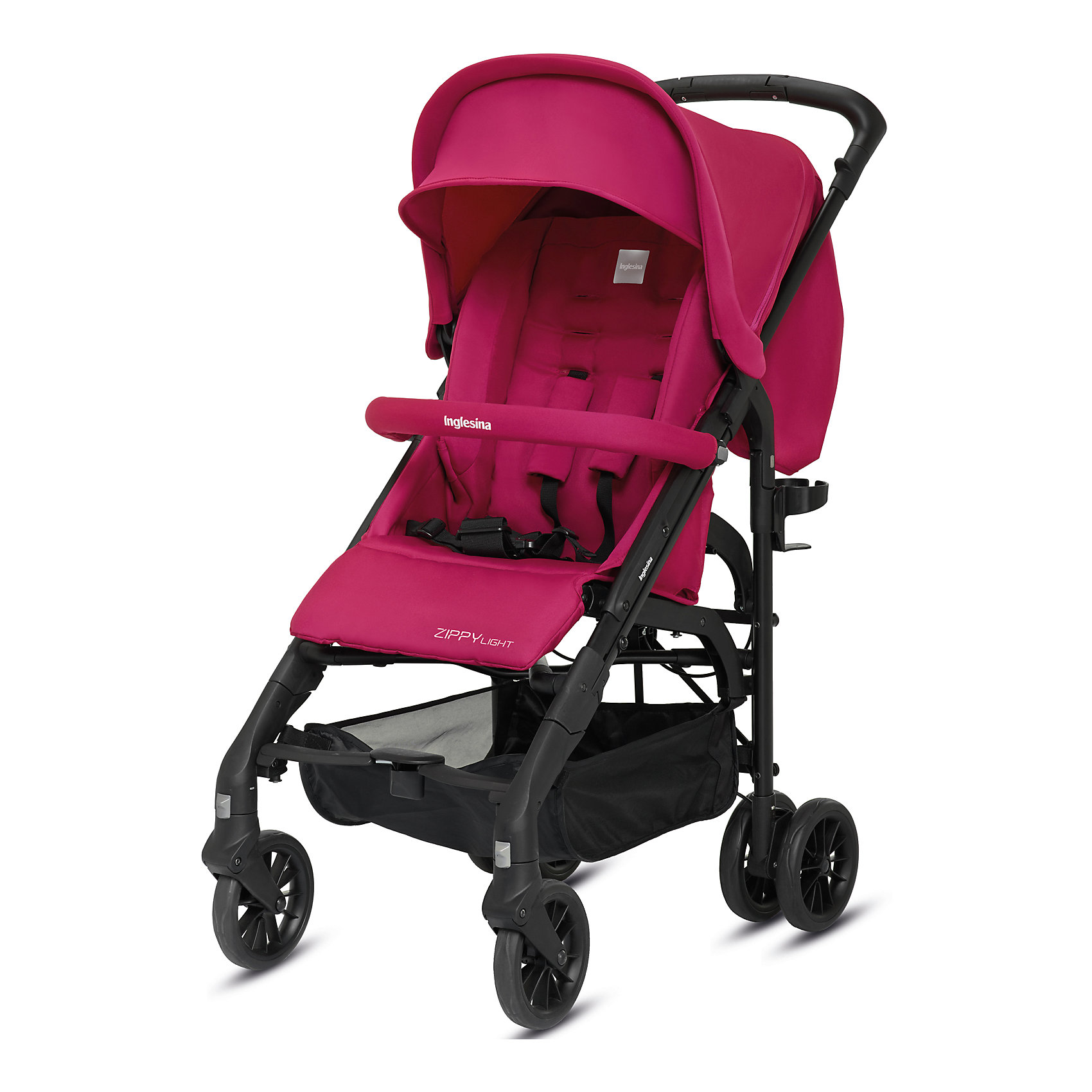 Inglesina Прогулочная коляска Zippy Light, Inglesina, Sweet Candy прогулочная коляска cool baby kdd 6699gb t fuchsia light grey