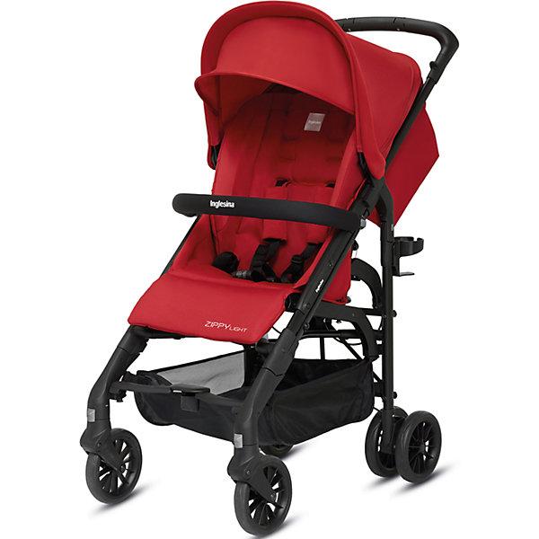 Прогулочная коляска Inglesina Zippy Light, Vivid RedКоляски-трости более 7 кг.<br>Прогулочная коляска Zippy Light - легкая, компактная и маневренная модель - идеальный вариант для прогулок и путешествий. Сдвоенные задние и поворотные передние колеса обладают отличной проходимостью и подойдут для любого грунта. Мягкое удобное сиденье, страховочные ремни, откидной бампер и регулируемые спинка и подножка обеспечат комфортные и безопасные прогулки. Кроме того, модель оснащена широким капюшоном с защитой от солнца UPF 50+ и дышащей сетчатой вставкой для хорошего самочувствия ребенка летом. Коляска быстро и удобно складывается, в сложенном виде занимает очень мало места. <br><br>Дополнительная информация:<br><br>- Материал: пластик, резина, текстиль, алюминий.<br>- Тип складывания: трость. <br>- Размер в разложенном виде: 49x101,5x80 см.<br>- Размер в сложенном виде: 31x96x32 см.<br>- Ширина шасси: 49 см.<br>- Вес: 6,9 кг.<br>- Количество колес: 6 (задние сдвоенные)<br>- Диаметр колес: 16 см.<br>- Максимальный вес ребенка: 17 кг.<br>- Передние колеса поворотные с возможностью фиксации. <br>- Регулируемая спинка (до горизонтального положения ).<br>- Регулируемая подножка (в 2-х положениях).<br>- 5-титочечные ремни безопасности.<br>- Бампер перед ребенком.<br>- Капюшон с сетчатым окошком.<br>- Вместительная корзина для вещей. <br>- Комплектация: подстаканник, дождевик. <br><br>Прогулочную коляску Zippy Light, Inglesina (Инглезина), Vivid Red, можно купить в нашем магазине.<br>Ширина мм: 1000; Глубина мм: 340; Высота мм: 270; Вес г: 8900; Возраст от месяцев: 6; Возраст до месяцев: 36; Пол: Унисекс; Возраст: Детский; SKU: 4764292;