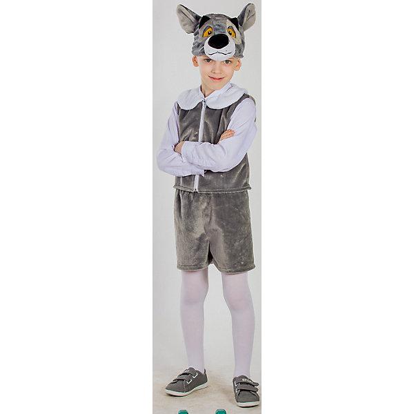 Карнавальный костюм Волчонок, КарнавалияКарнавальные костюмы для девочек<br>Карнавальный костюм Волчонок, Карнавалия - симпатичный карнавальный костюм, который поможет создать необходимый образ для праздника.<br><br>Дополнительная информация:<br><br>В комплект входит: шорты, жилет, шапочка.<br>Материал: 100% полиэстер.<br><br>Карнавальный костюм Волчонок, Карнавалия можно купить в нашем интернет-магазине.<br><br>Ширина мм: 460<br>Глубина мм: 90<br>Высота мм: 360<br>Вес г: 375<br>Возраст от месяцев: 36<br>Возраст до месяцев: 84<br>Пол: Унисекс<br>Возраст: Детский<br>Размер: 122/128<br>SKU: 4764392