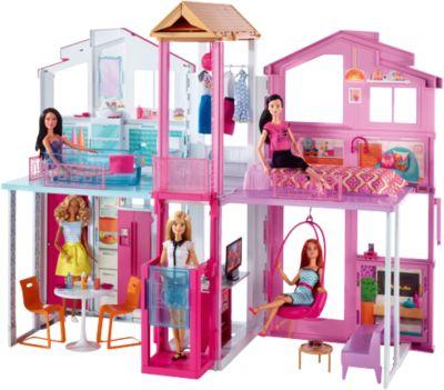 Mattel Городской дом Малибу, Barbie