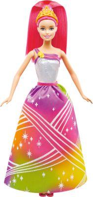 Mattel Радужная принцесса с волшебными волосами, Barbie