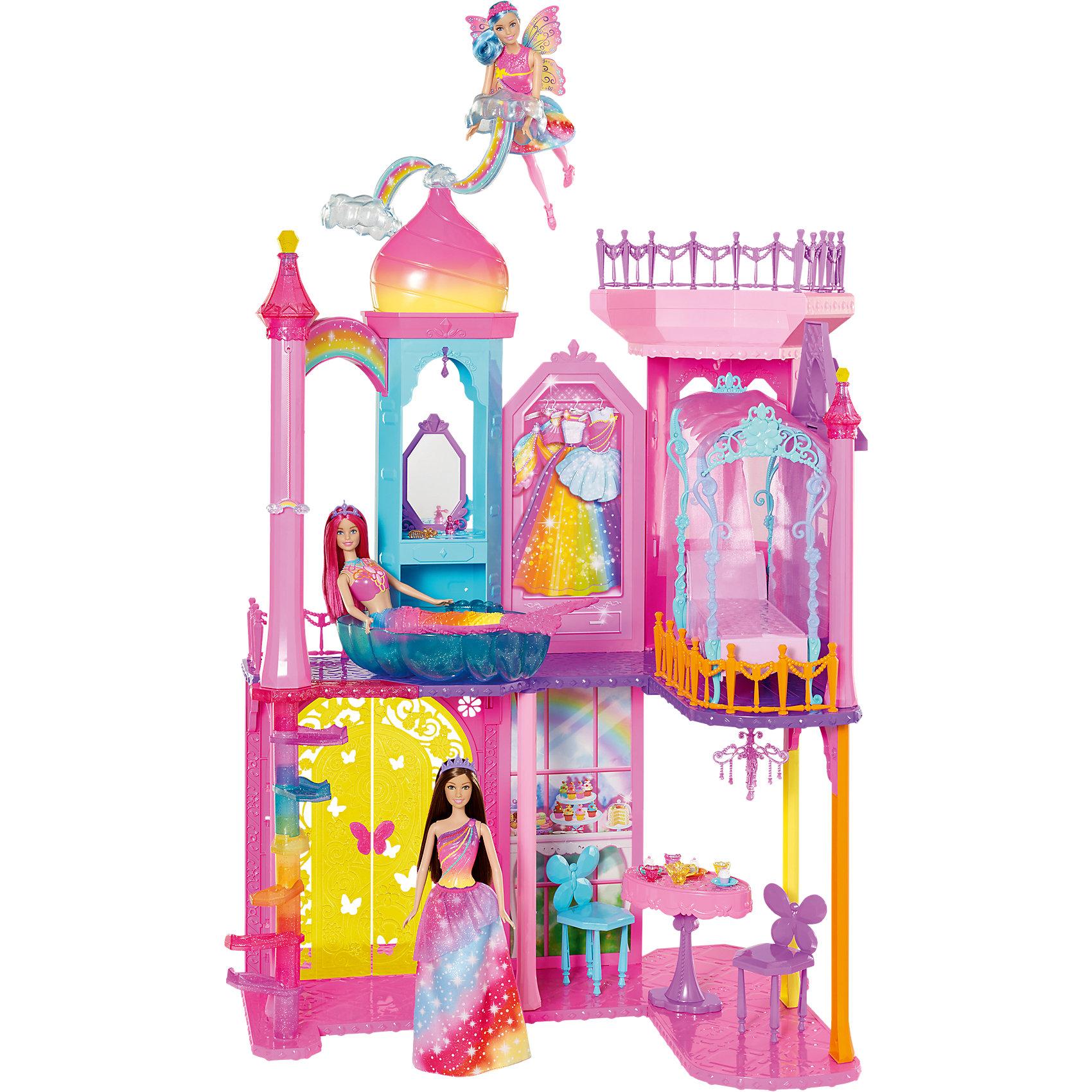 Mattel Радужный дворец Barbie mattel mattel кукла ever after high мишель мермейд