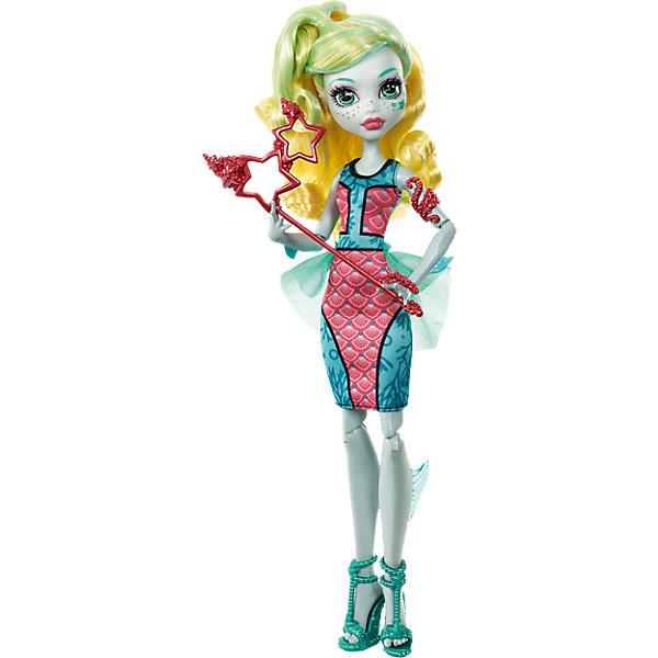 Кукла Лагуна Блю из серии Буникальные танцы, Monster HighMonster High<br>Оригинальная кукла Лагуна Блю одета в строгое платье с плавниками в морском стиле. Стильные туфли и красивая прическа подчеркивают элегантность образа. Маска в виде морских звезд с держателем поможет сделать тысячи самых ярких фотографий в школе Monster High. <br><br>Дополнительная информация:<br>Материал: пластик<br>Куклу Лагуна Блю вы можете приобрести в нашем интернет-магазине.<br>Ширина мм: 330; Глубина мм: 157; Высота мм: 68; Вес г: 209; Возраст от месяцев: 72; Возраст до месяцев: 120; Пол: Женский; Возраст: Детский; SKU: 4765371;