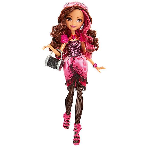 Кукла  Браер Бьюти, Ever After HighКуклы<br>Кукла  Браер Бьюти торговой марки Ever After High (Эвер Афтер Хай) школьная модница, умеет потусоваться и поспать тоже. Каждый день Брайер одевает своё любимое розовое платье. Вся ее одежда украшена  розами. Даже колготки у неё с узором шипов. У Брайер также присутствует чёрная сумочка, на которой тоже есть розы. Основные цвета Брайер - розовый и чёрный. На голове у неё розовые очки с разными узорами. Также у красавицы есть чёрные браслеты, туфли, застёжка которой является розовая роза и серёжки.<br><br>Дополнительная информация:<br><br>- материал: пластик.<br>- высота: 25 см.<br>- голова, руки, ноги куклы подвижные. <br>- комплектация: кукла в одежде и обуви, расческа, дневник, сумочка.<br>- бренд: Mattel      <br>- страна обладатель бренда: США.<br><br>Купить куклу  Ever After High (Эвер Афтер Хай) Браер Бьюти можно в нашем интернет-магазине<br><br>Ширина мм: 325<br>Глубина мм: 203<br>Высота мм: 43<br>Вес г: 234<br>Возраст от месяцев: 72<br>Возраст до месяцев: 144<br>Пол: Женский<br>Возраст: Детский<br>SKU: 4765382