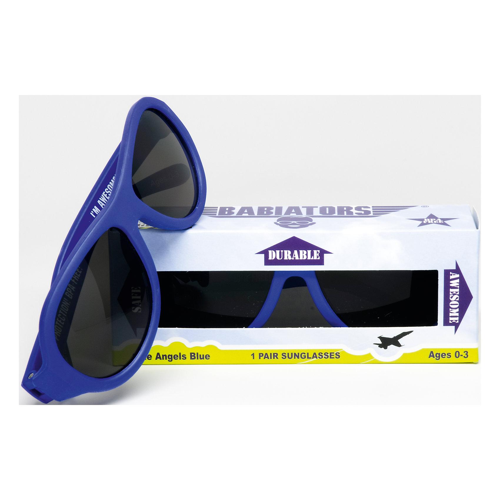 Солнцезащитные очки Babiators OriginalЗащита глаз всегда в моде.<br>Вы делаете все возможное, чтобы ваши дети были здоровы и в безопасности. Шлемы для езды на велосипеде, солнцезащитный крем для прогулок на солнце. Но как насчёт влияния солнца на глазах вашего ребёнка? Правда в том, что сетчатка глаза у детей развивается вместе с самим ребёнком. Это означает, что глаза малышей не могут отфильтровать УФ-излучение. Добавьте к этому тот факт, что дети за год получают трёхкратную дозу солнечного воздействия на взрослого человека (доклад Vision Council Report 2013, США). Проблема понятна - детям нужна настоящая защита, чтобы глазка были в безопасности, а зрение сильным.<br>Каждая пара солнцезащитных очков Babiators для детей обеспечивает 100% защиту от UVA и UVB. Прочные линзы высшего качества не подведут в самых сложных переделках. Будьте уверены, что очки Babiators созданы безопасными, прочными и классными, так что вы и ваш маленький лётчик можете приступать к своим приключениям!<br><br>• Прочная, гибкая прорезиненная оправа;<br>• 100 % защита от UVA и UVB солнечных лучей;<br>• Ударопрочные линзы;<br>• Стильные: выбор многих голливудских звёзд.<br><br>Ширина мм: 170<br>Глубина мм: 157<br>Высота мм: 67<br>Вес г: 117<br>Возраст от месяцев: 0<br>Возраст до месяцев: 36<br>Пол: Унисекс<br>Возраст: Детский<br>SKU: 4766955
