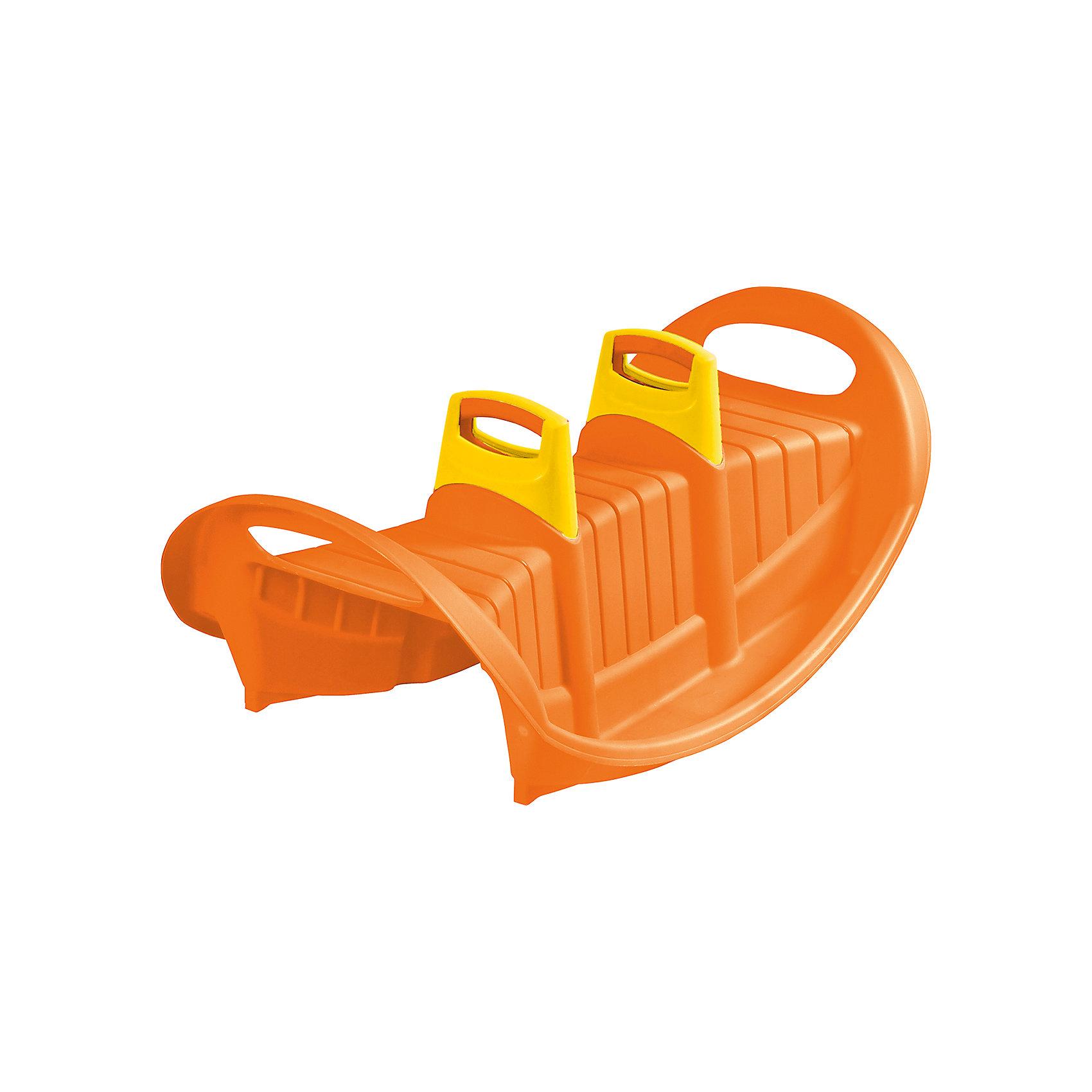 Качели Трио, оранжевые, Marianplast