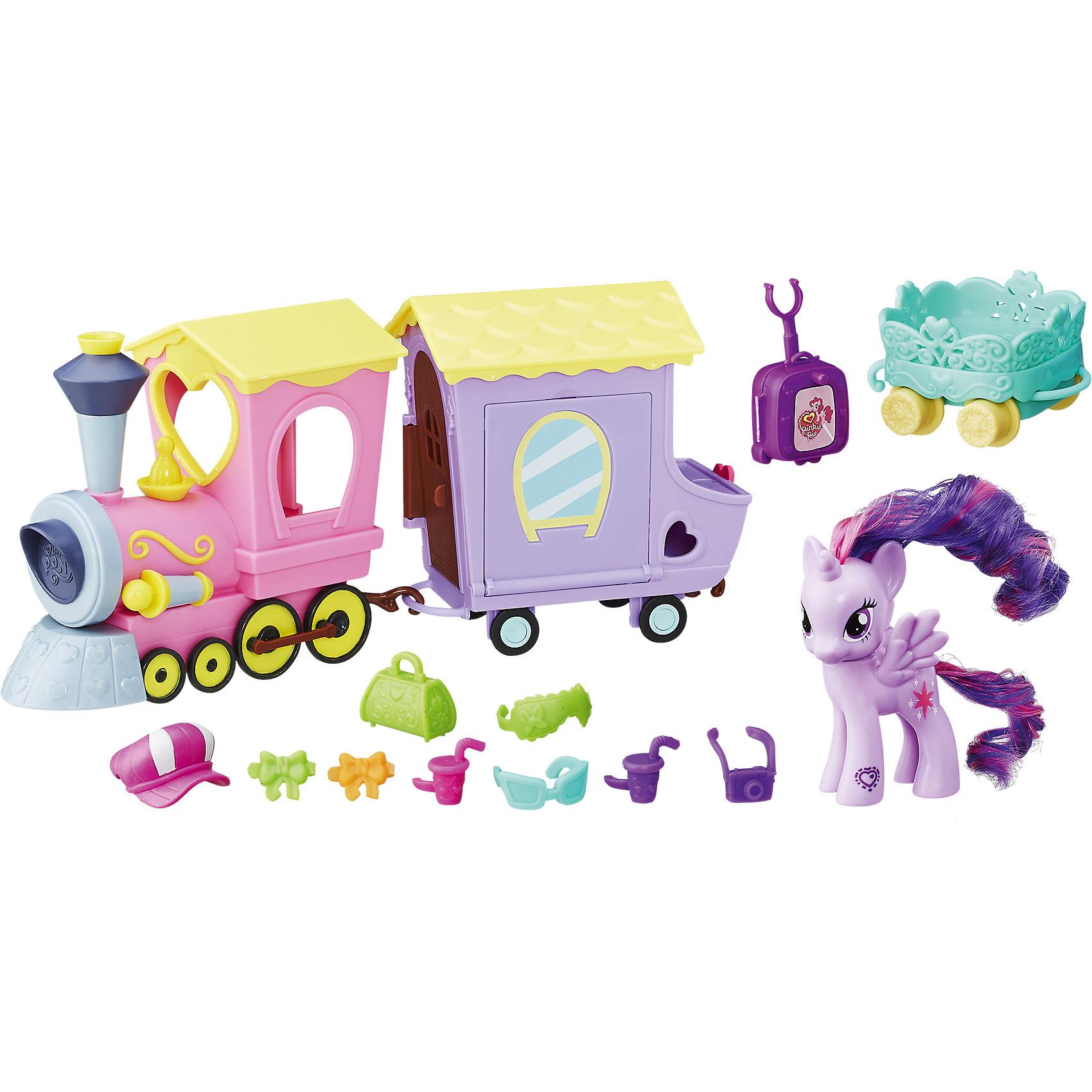 Hasbro Игровой набор Поезд Дружбы, My Little Pony философия дружбы
