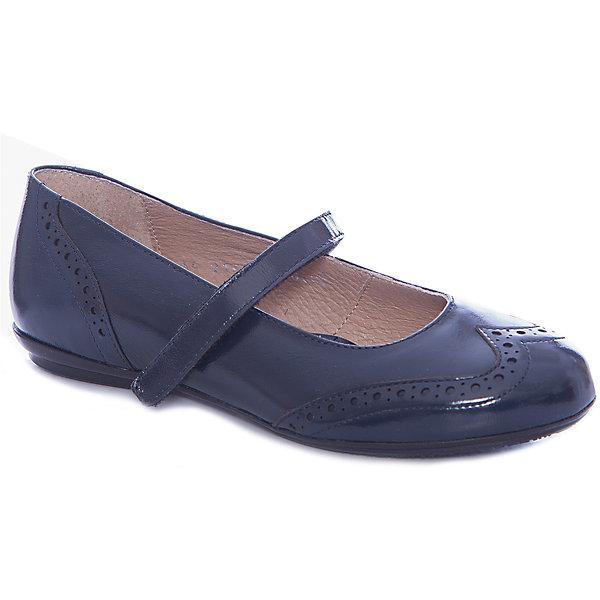 Туфли для девочки GulliverОбувь<br>Туфли для девочки от известного бренда Gulliver<br>Выбрать школьные туфли для девочек - задача не из простых! Они должны выглядеть стильно и соответствовать необходимым стандартам качества. Синие школьные туфли из натуральной лаковой кожи - то, что нужно! Удобные, красивые, практичные, они прекрасно выглядят, а значит, придутся ученице по вкусу. Туфли отлично завершат и повседневный, и нарядный образ школьницы, придав ему элегантность.<br>Состав: верх: кожа лак; подкладка: кожа; подошва: ТЭП<br>Ширина мм: 227; Глубина мм: 145; Высота мм: 124; Вес г: 325; Цвет: синий; Возраст от месяцев: 120; Возраст до месяцев: 132; Пол: Женский; Возраст: Детский; Размер: 34,33,32; SKU: 4767330;