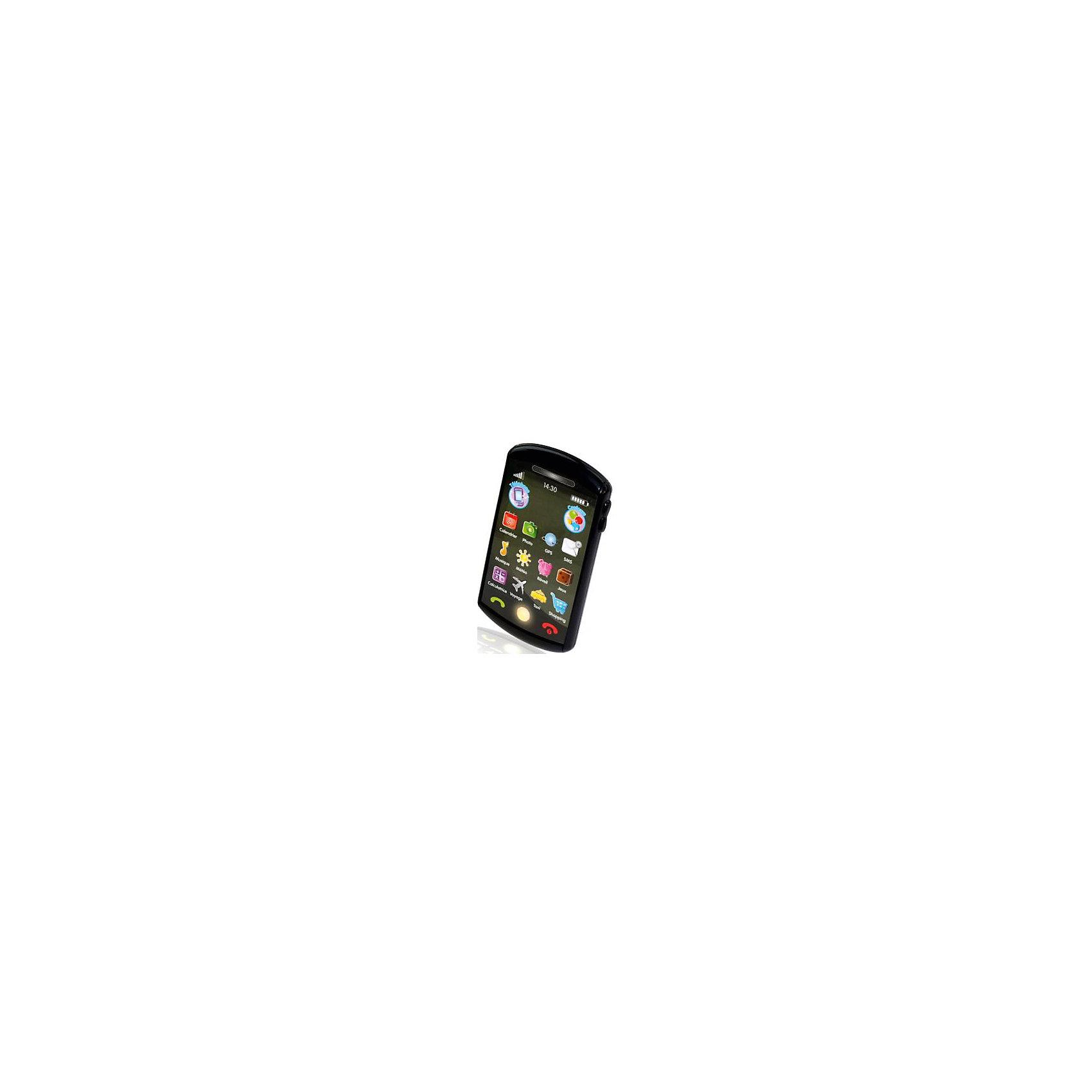- Мини-смартфон Kidz Delight, 1toy интерактивный смартфон фрукты 1toy