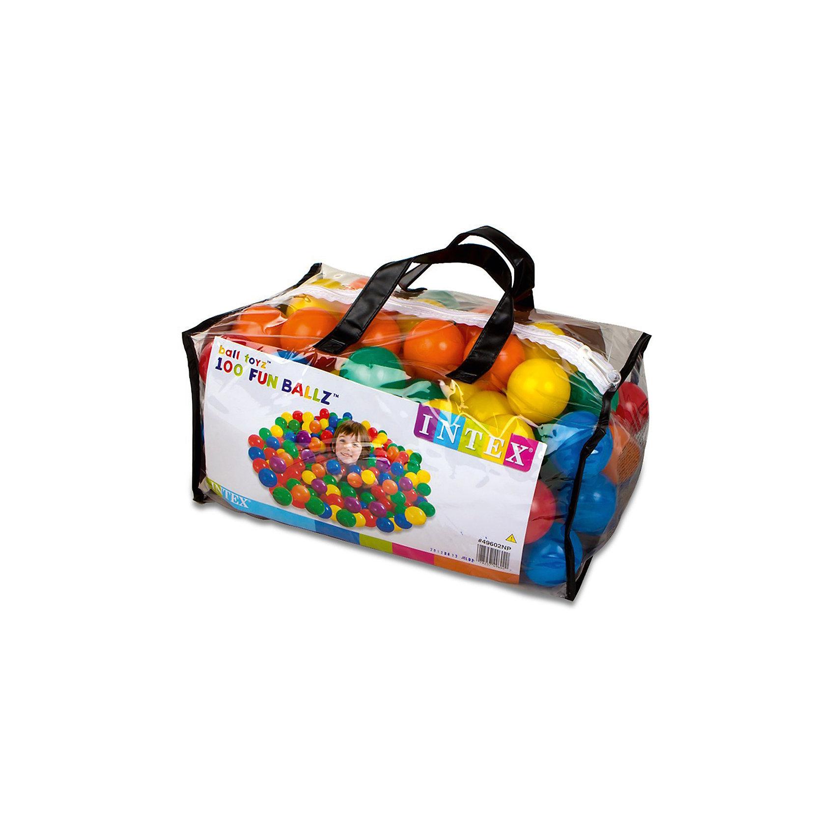 Набор мячей для сухого бассейна, диаметр 6,5см.Шарики для сухого бассейна от компании Интекс станут отличным дополнением к игровому центру. С помощью таких шаров можно учить цвета и играть во множество интересных игр.<br><br>Ширина мм: 225<br>Глубина мм: 450<br>Высота мм: 310<br>Вес г: 990<br>Возраст от месяцев: 36<br>Возраст до месяцев: 120<br>Пол: Мужской<br>Возраст: Детский<br>SKU: 4767356