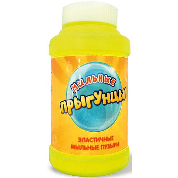 Эластичные мыльные пузыри Прыгунцы: бутылка с раствором, 100 мл, 1toyМыльные пузыри<br><br>Ширина мм: 50; Глубина мм: 85; Высота мм: 50; Вес г: 108; Возраст от месяцев: 36; Возраст до месяцев: 192; Пол: Унисекс; Возраст: Детский; SKU: 4767364;