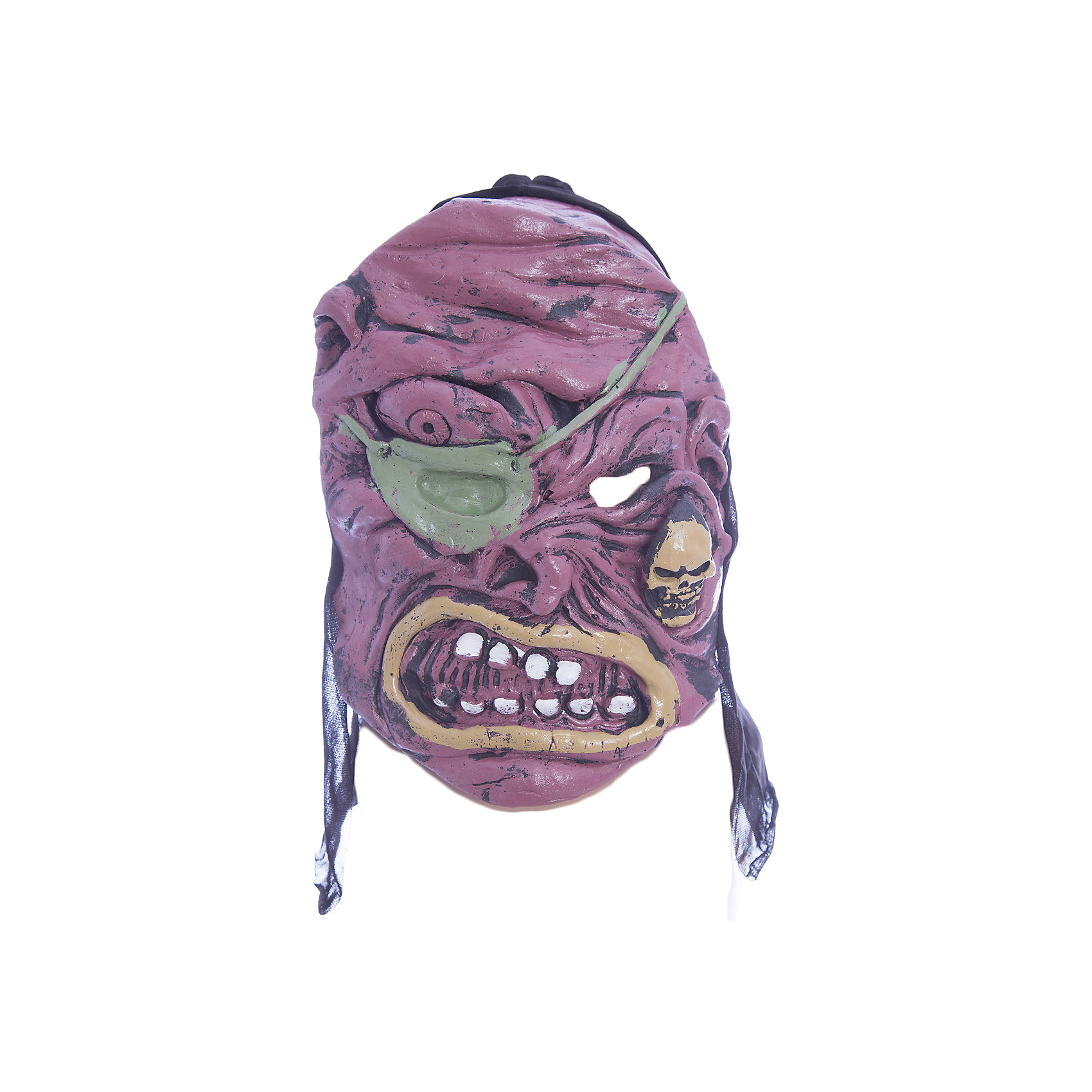 Карнавальная маска Череп, бордовыйСюжетно-ролевые игры<br>Карнавальная маска Череп, бордовый — это детализированный элемент карнавального костюма, представляющий собой маску, которая вызовет настоящий восторг у всех юных поклонников преображения. Маска очень практичная, ваш ребенок всё увидит через глазницы существа. Если у него будет костюм в едином стиле с маской, то приз на любом конкурсе костюмов ему обеспечен. Эти маски могут понравится как девочкам, так и мальчикам, ведь все дети хотят хоть раз побыть на стороне чудовища.<br><br>Ширина мм: 195<br>Глубина мм: 20<br>Высота мм: 270<br>Вес г: 100<br>Возраст от месяцев: 72<br>Возраст до месяцев: 192<br>Пол: Мужской<br>Возраст: Детский<br>SKU: 4767387