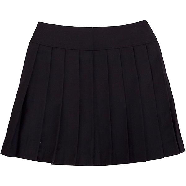 Юбка для девочки GulliverЮбки<br>Юбка для девочки от известного бренда Gulliver<br>Школьная юбка в складку - классика жанра! Она всегда смотрится очень красиво и достойно. В сочетании с любым верхом школьная юбка в складку составит интересный элегантный комплект. Отличный состав и качество ткани гарантирует высокую износостойкость изделия.<br>Состав:<br>тк. верха: 65% полиэстер, 23% вискоза, 10% шерсть, 2% эластан подкл.: 100% полиэстер<br>Ширина мм: 207; Глубина мм: 10; Высота мм: 189; Вес г: 183; Цвет: черный; Возраст от месяцев: 84; Возраст до месяцев: 96; Пол: Женский; Возраст: Детский; Размер: 128,134,140,152,122,158,146; SKU: 4767820;