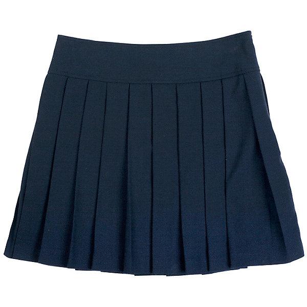 Юбка для девочки GulliverЮбки<br>Юбка для девочки от известного бренда Gulliver<br>Школьная юбка в складку - классика жанра! Она всегда смотрится очень красиво и достойно. В сочетании с любым верхом школьная юбка в складку составит интересный элегантный комплект. Отличный состав и качество ткани гарантирует высокую износостойкость изделия.<br>Состав:<br>верх:                             10% шерсть           23% вискоза            65% полиэстер 2% эластан;                                  подкл.:                   50% вискоза    50% полиэстер<br>Ширина мм: 207; Глубина мм: 10; Высота мм: 189; Вес г: 183; Цвет: синий; Возраст от месяцев: 108; Возраст до месяцев: 120; Пол: Женский; Возраст: Детский; Размер: 140,146,128,134,152,122,158; SKU: 4767828;