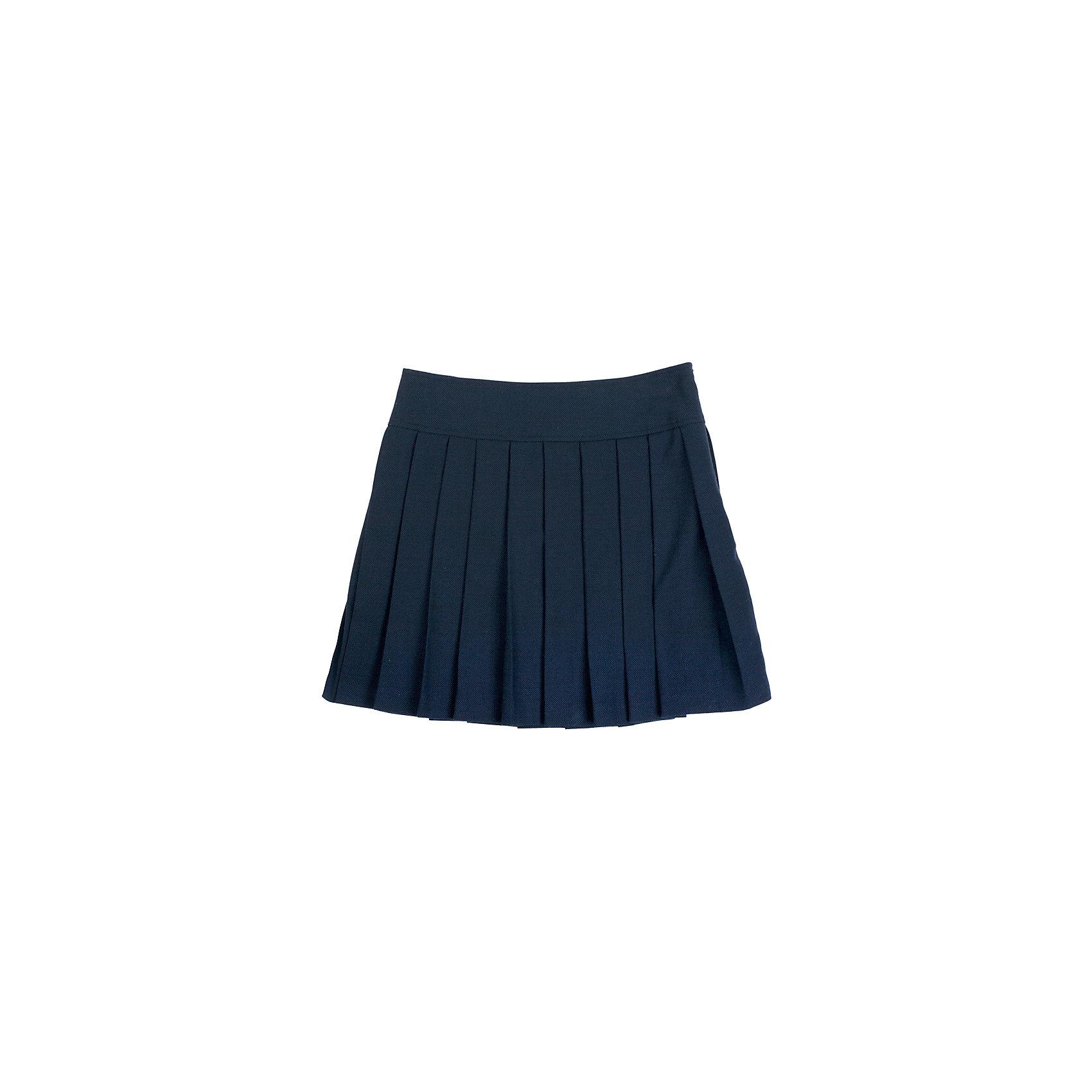 Юбка для девочки GulliverЮбки<br>Юбка для девочки от известного бренда Gulliver<br>Школьная юбка в складку - классика жанра! Она всегда смотрится очень красиво и достойно. В сочетании с любым верхом школьная юбка в складку составит интересный элегантный комплект. Отличный состав и качество ткани гарантирует высокую износостойкость изделия.<br>Состав:<br>верх:                             10% шерсть           23% вискоза            65% полиэстер 2% эластан;                                  подкл.:                   50% вискоза    50% полиэстер<br><br>Ширина мм: 207<br>Глубина мм: 10<br>Высота мм: 189<br>Вес г: 183<br>Цвет: синий<br>Возраст от месяцев: 120<br>Возраст до месяцев: 132<br>Пол: Женский<br>Возраст: Детский<br>Размер: 146,158,122,152,134,128,140<br>SKU: 4767828