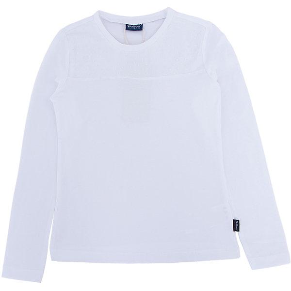 Блузка для девочки GulliverБлузки и рубашки<br>Блузка для девочки от известного бренда Gulliver<br>Школьные блузки для девочек могут не иметь пышных рюш и оборок, при этом выглядеть очень нарядно, достойно, утонченно. Белая блузка для школы, выполненная из трикотажного полотна с эластаном имеет отрезную кокетку, оформленную мягкой сеткой в мелкий горошек. Это делает модель легкой и изящной. Трикотаж с эластаном не сковывает движений, помогая ребенку быть самим собой.<br>Состав:<br>95% хлопок      5% эластан<br>Ширина мм: 186; Глубина мм: 87; Высота мм: 198; Вес г: 197; Цвет: белый; Возраст от месяцев: 96; Возраст до месяцев: 108; Пол: Женский; Возраст: Детский; Размер: 158,152,128,122,140,146,134; SKU: 4767859;