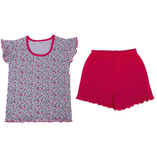 Пижама для девочки АпрельПижамы и сорочки<br>Пижама для девочки от известного бренда Апрель.<br><br>Состав:<br>хлопок 100%, хлопок 65% + полиэстер 35%<br><br>Ширина мм: 281<br>Глубина мм: 70<br>Высота мм: 188<br>Вес г: 295<br>Цвет: розовый<br>Возраст от месяцев: 60<br>Возраст до месяцев: 72<br>Пол: Женский<br>Возраст: Детский<br>Размер: 116,122,110,104,98,128<br>SKU: 4768222